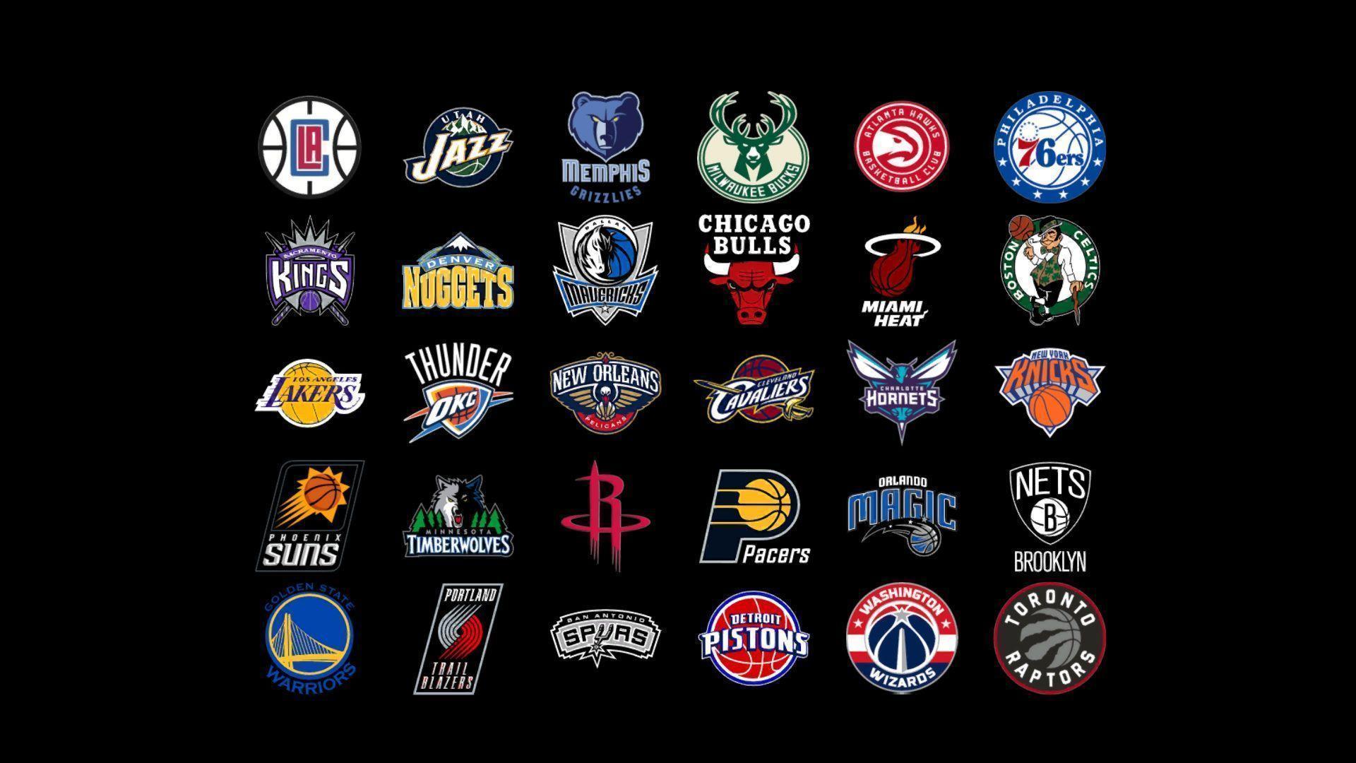 Nba Team Logos Wallpapers Top Free Nba Team Logos Backgrounds Wallpaperaccess