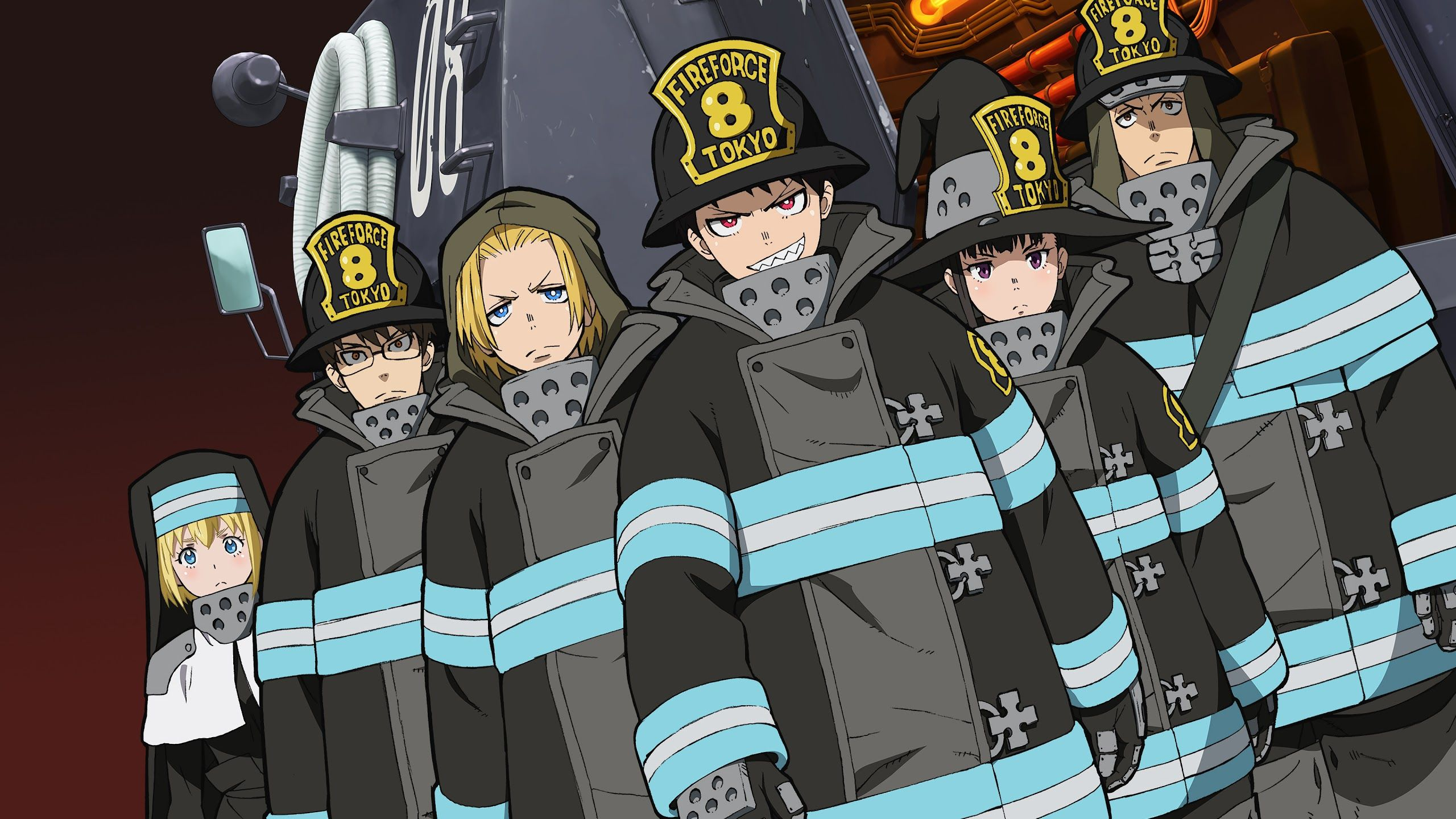 Enen No Shouboutai Wallpapers Top Free Enen No Shouboutai Backgrounds Wallpaperaccess You can also upload and share your favorite fire force wallpapers. enen no shouboutai wallpapers top
