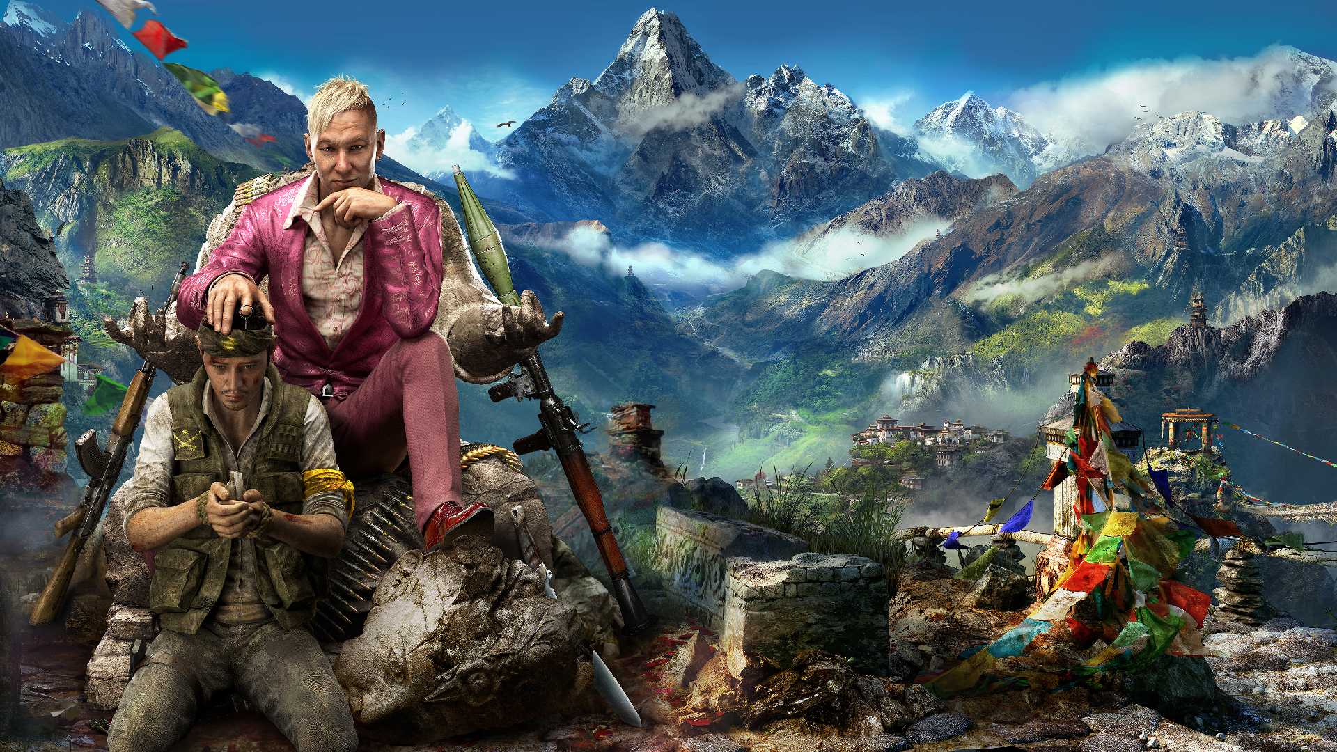 Far Cry 4 Wallpapers Top Free Far Cry 4 Backgrounds Wallpaperaccess
