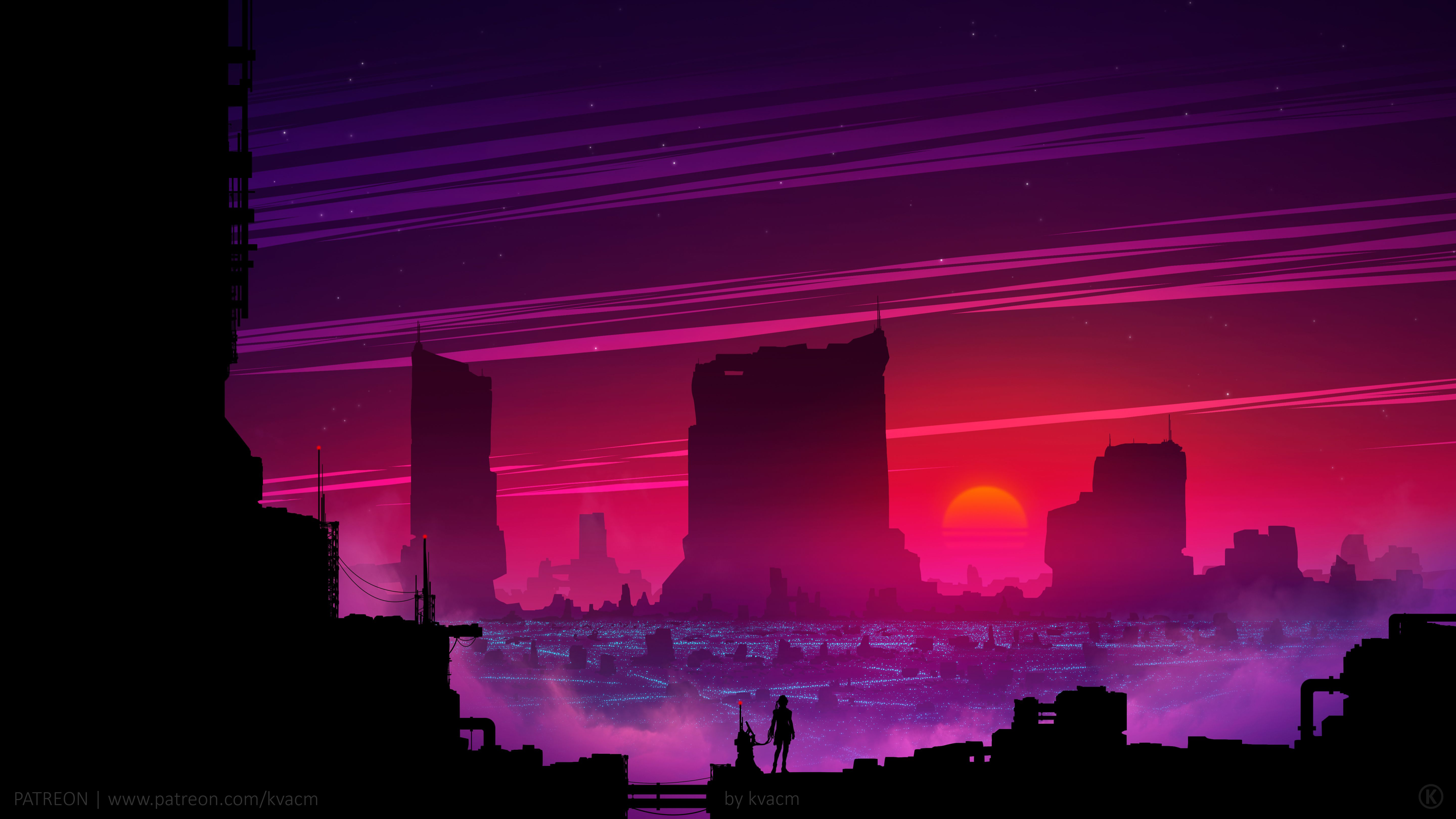 Dark Synthwave Wallpapers Top Free Dark Synthwave Backgrounds Wallpaperaccess