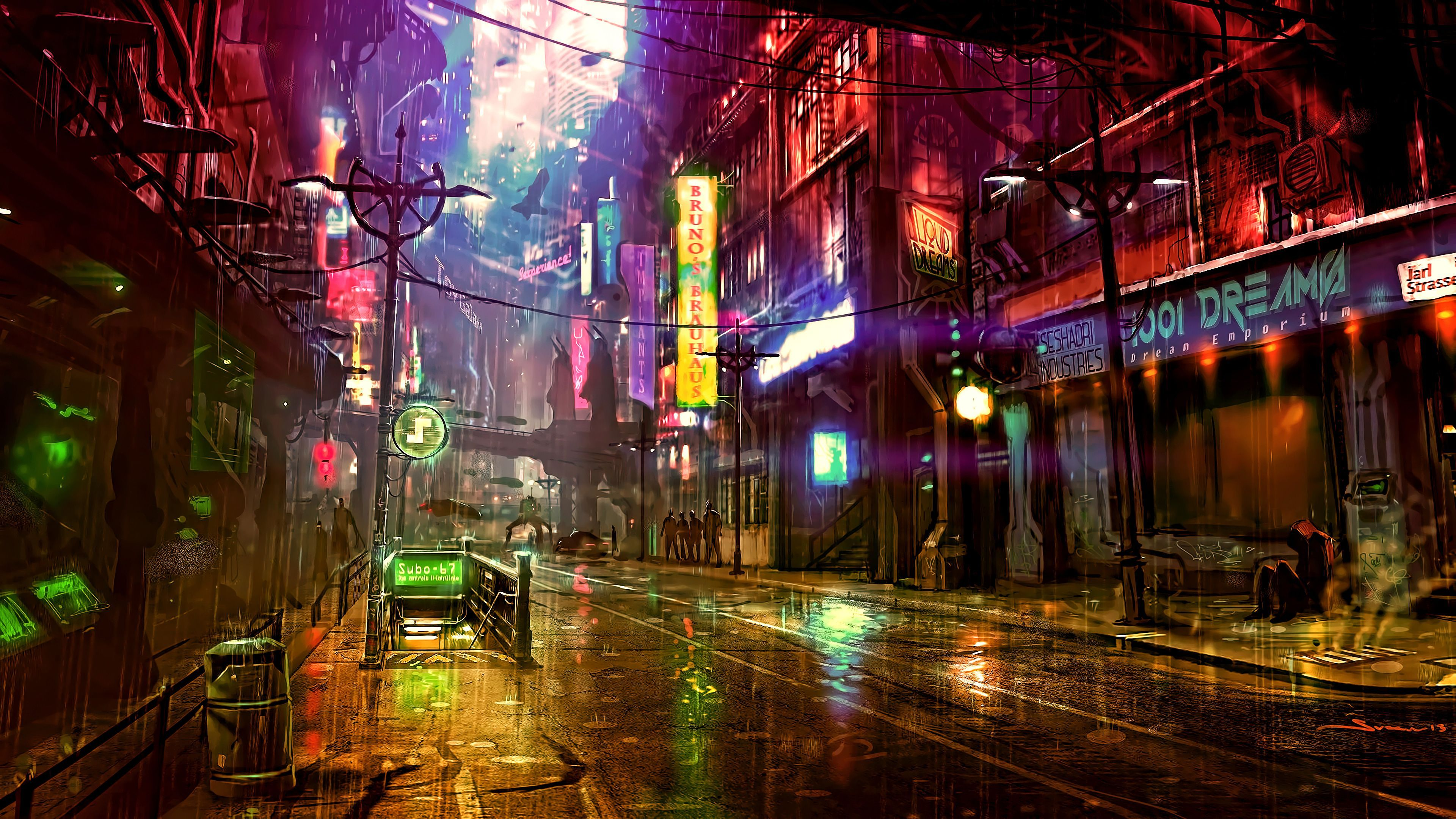 Cyberpunk Tokyo 4K Wallpapers - Top Free Cyberpunk Tokyo ...