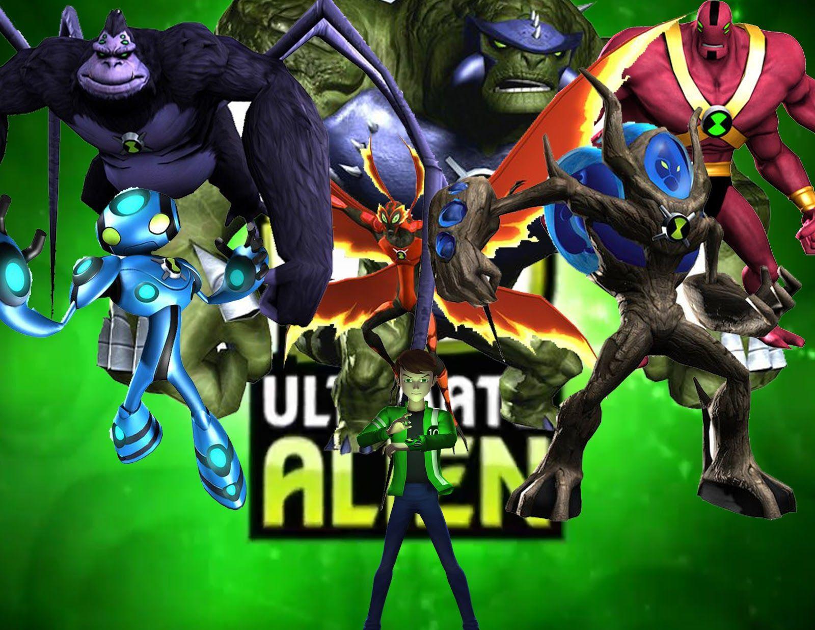 Ben 10 Ultimate Alien Wallpapers Top Free Ben 10 Ultimate