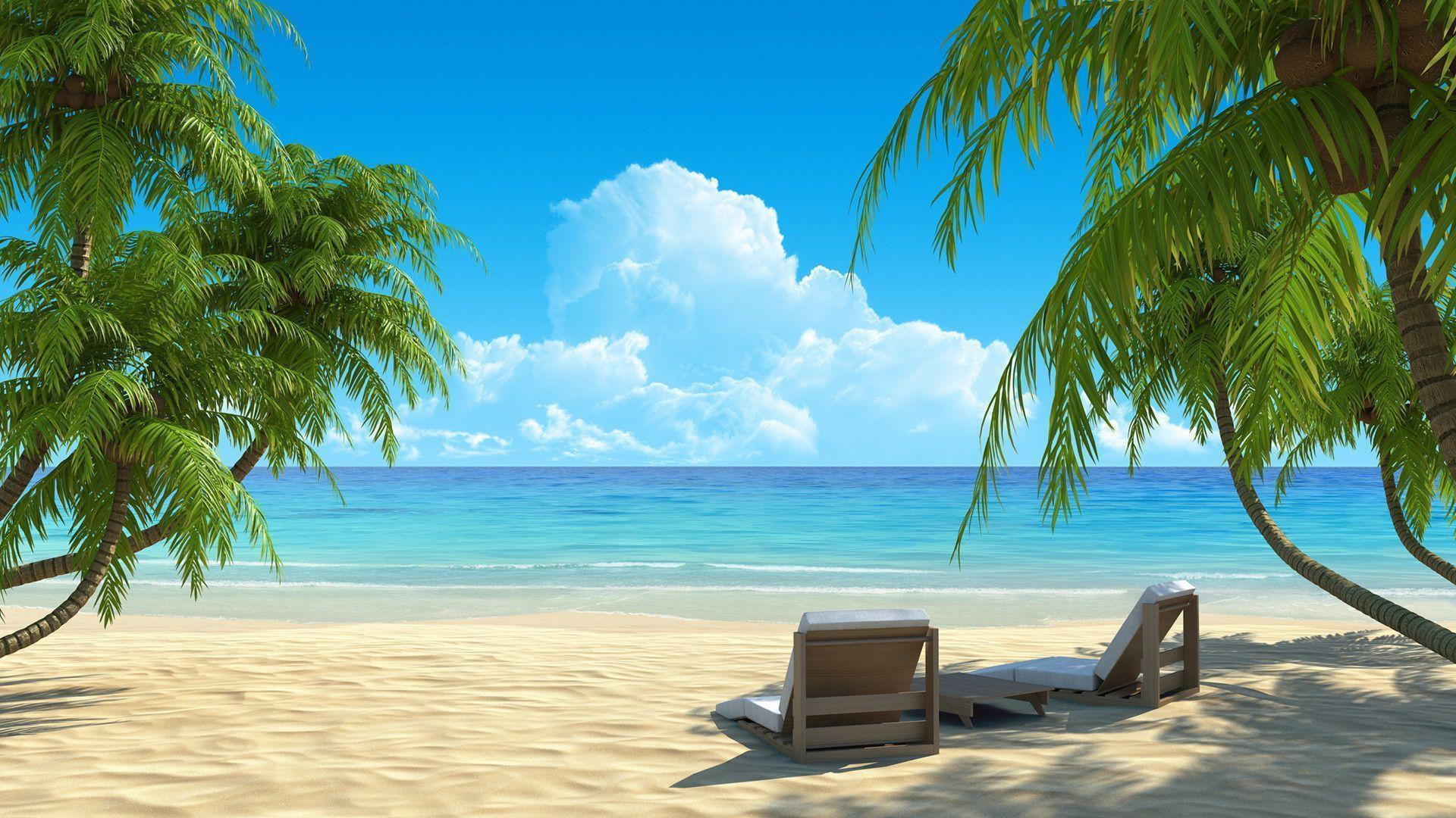 Beach Paradise Wallpapers - Top Free Beach Paradise Backgrounds ...