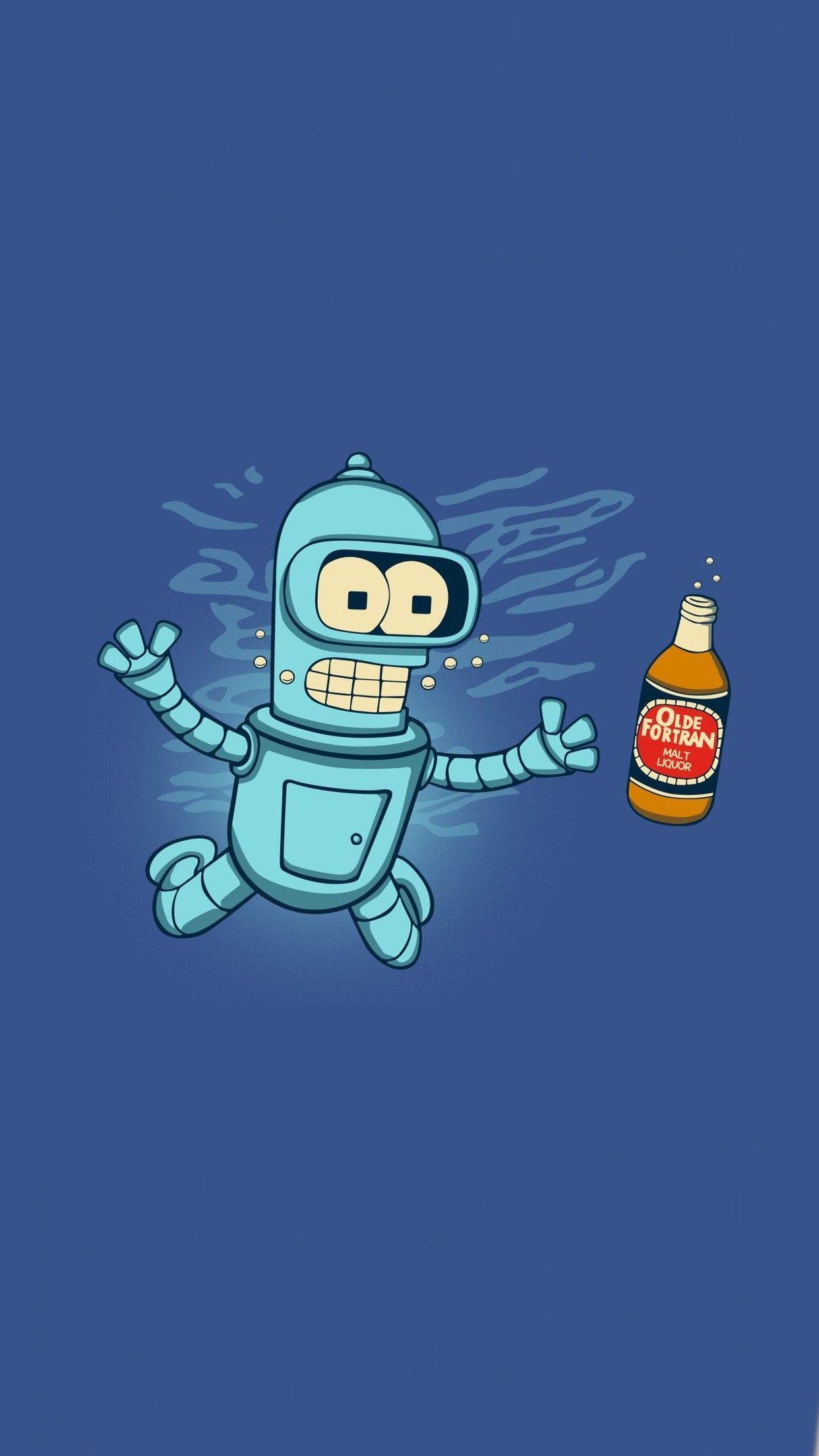 Bender Futurama Wallpapers - Top Free
