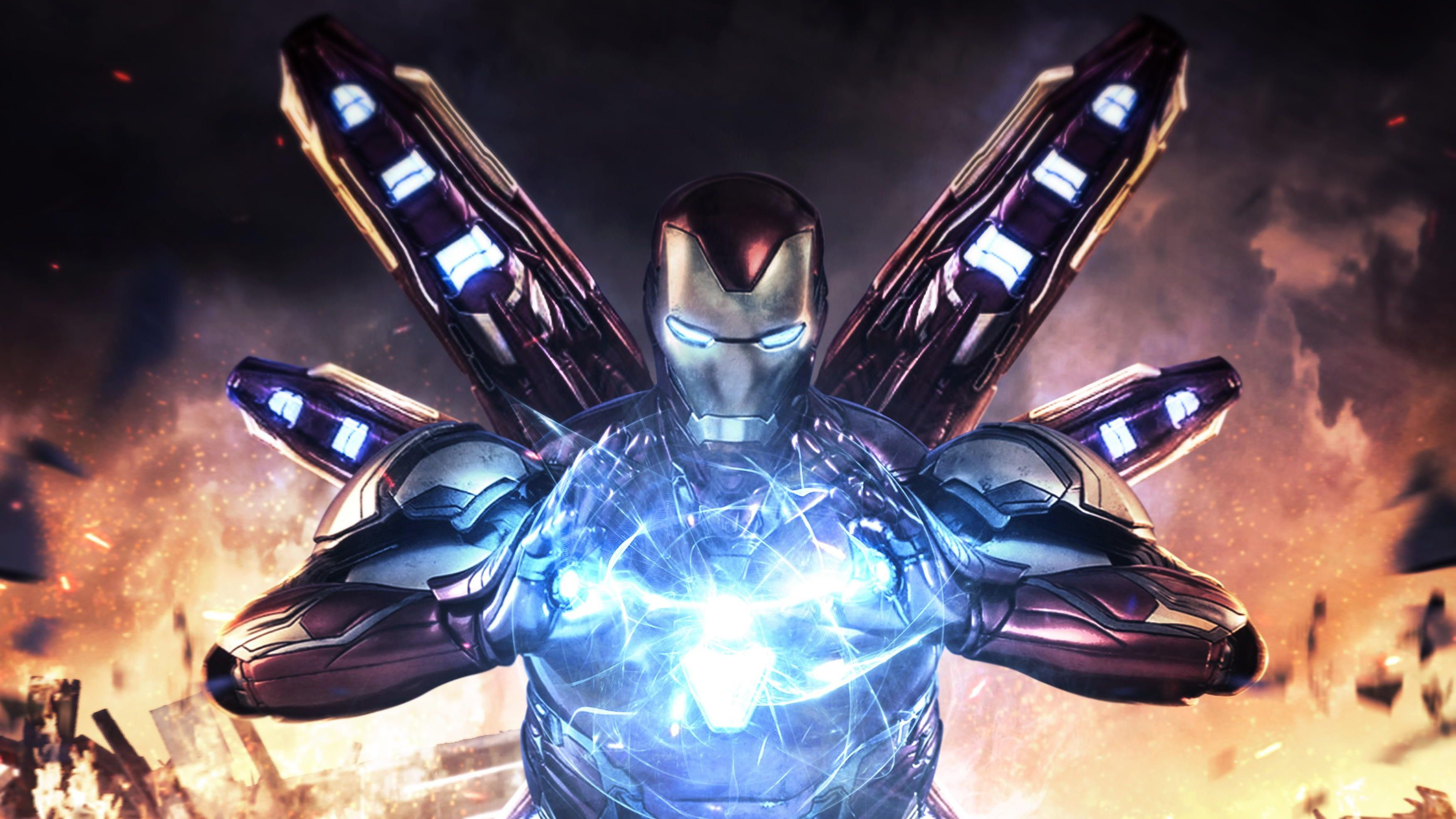 Iron Man Endgame Hd Wallpapers Top Free Iron Man Endgame Hd Backgrounds Wallpaperaccess