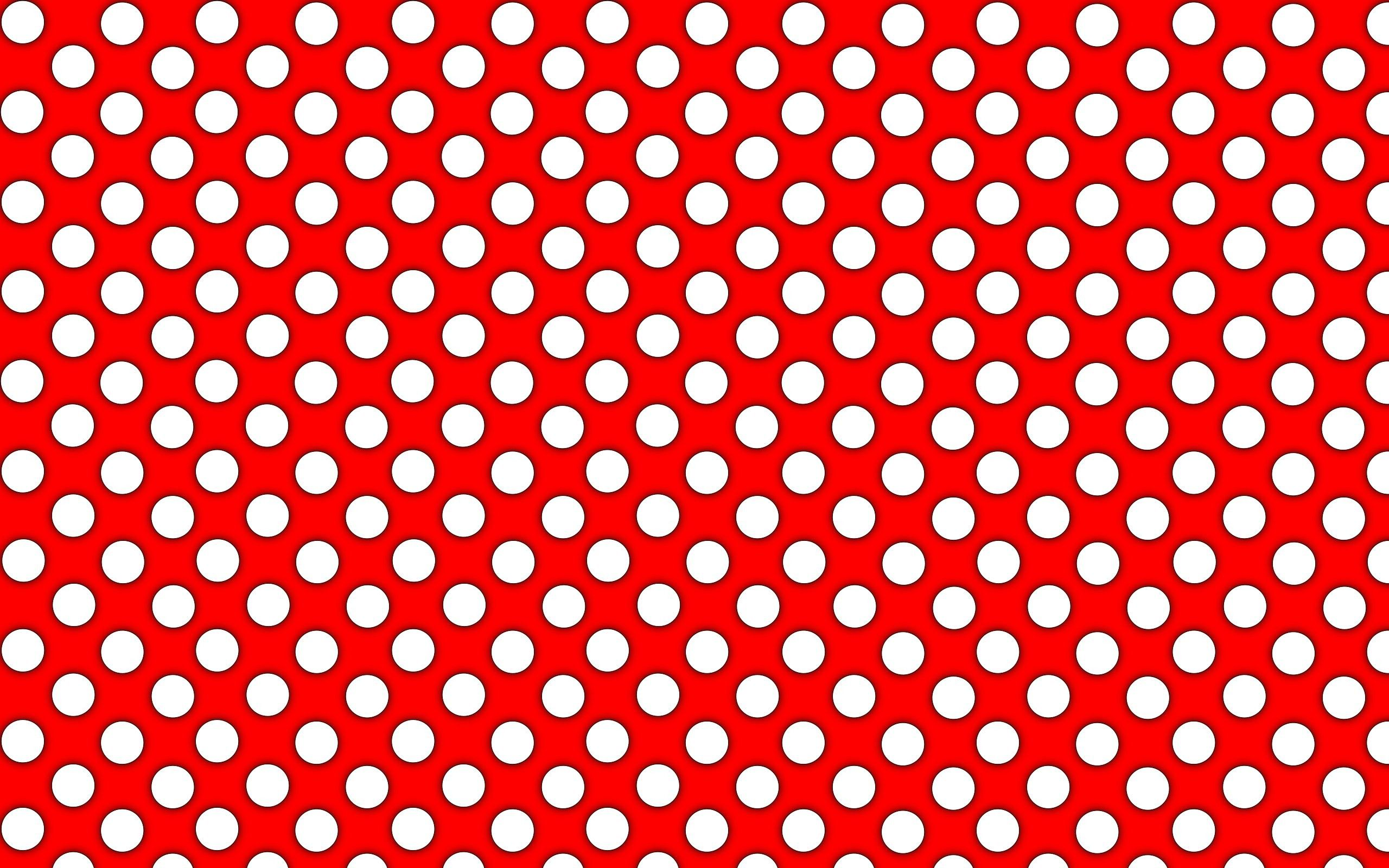 RED WHITE POLKA DOT WALLPAPER RASCH 442311