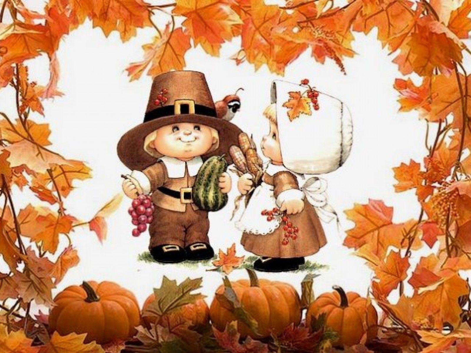 1024x768 Thanksgiving Wallpapers