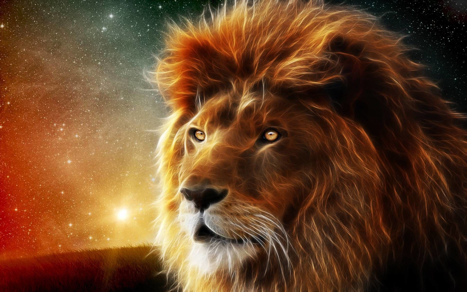 Neon Lion Wallpapers Top Free Neon Lion Backgrounds