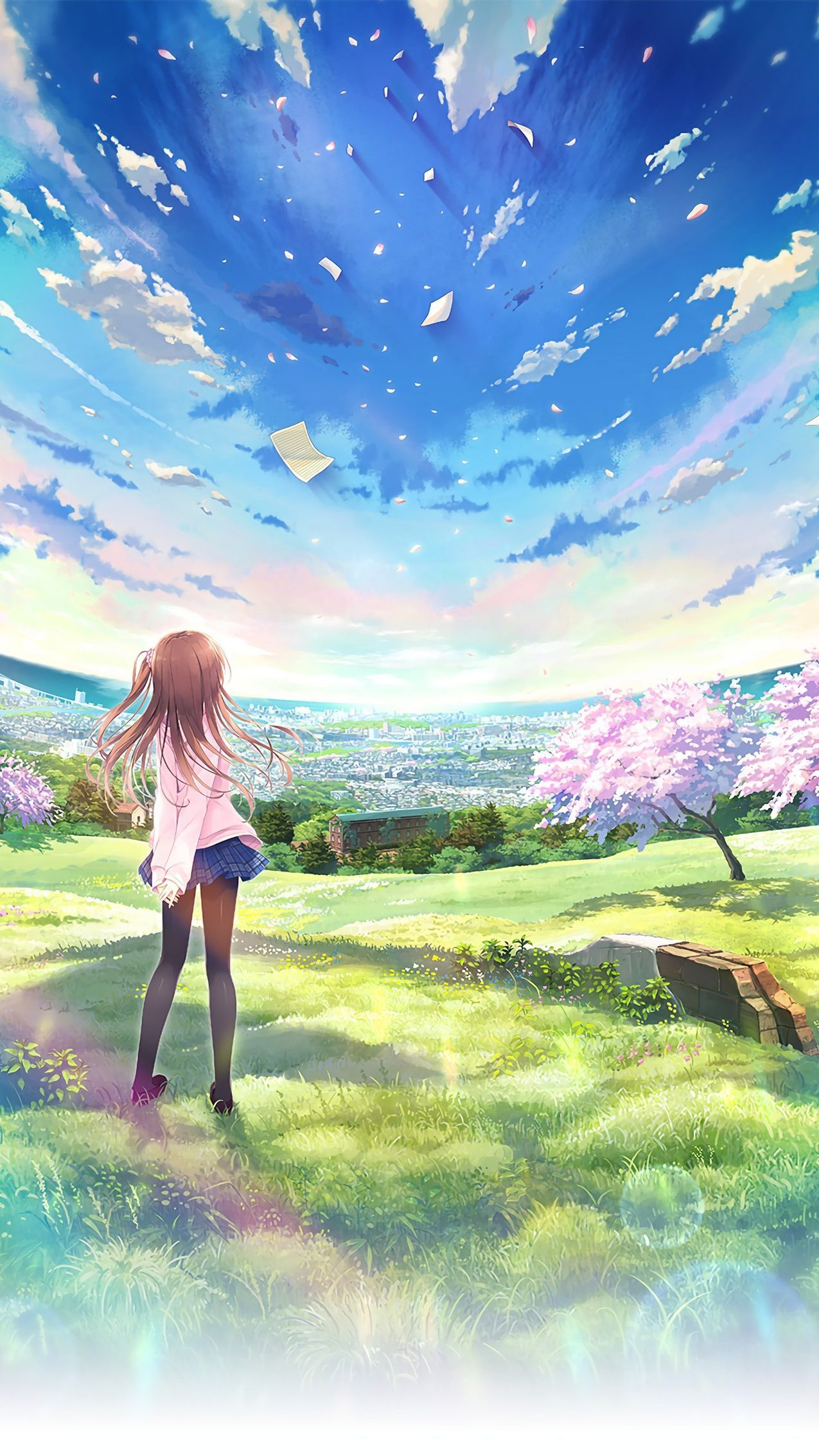 Anime World Wallpapers Top Free Anime World Backgrounds Wallpaperaccess