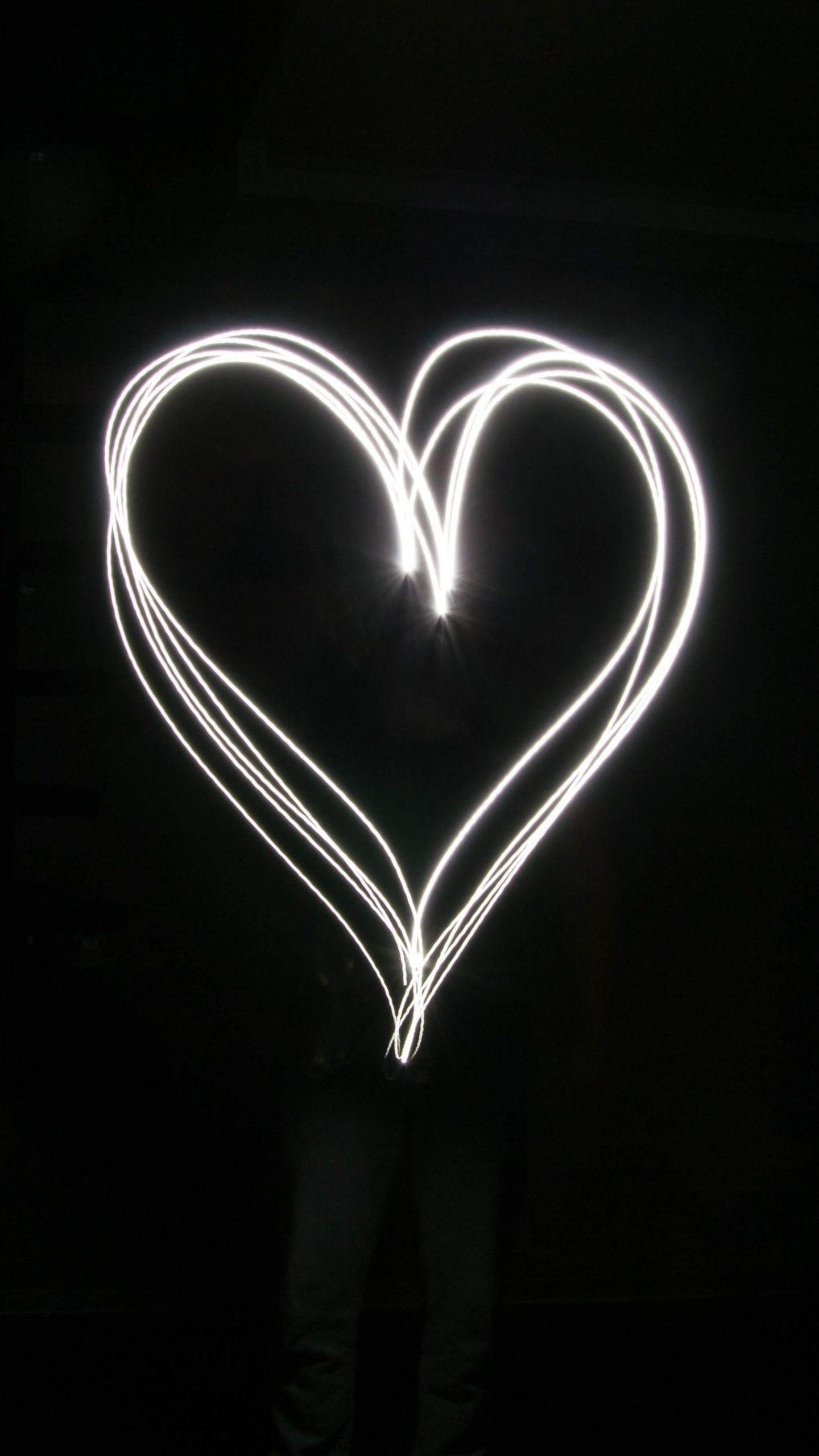 Cute Black Heart Wallpapers Top Free Cute Black Heart Backgrounds Wallpaperaccess