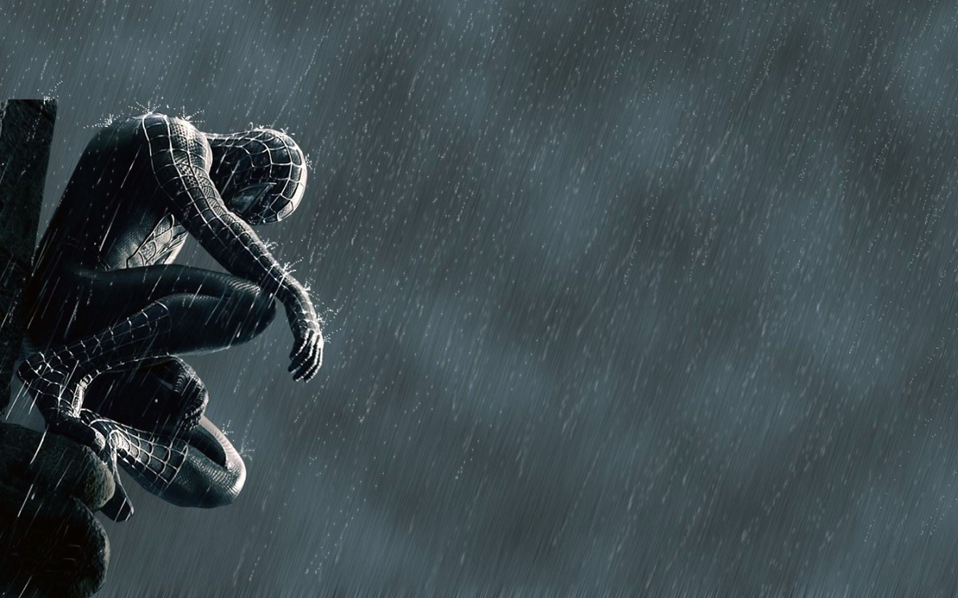 Black spider man wallpapers top free black spider man - Black and white spiderman wallpaper ...