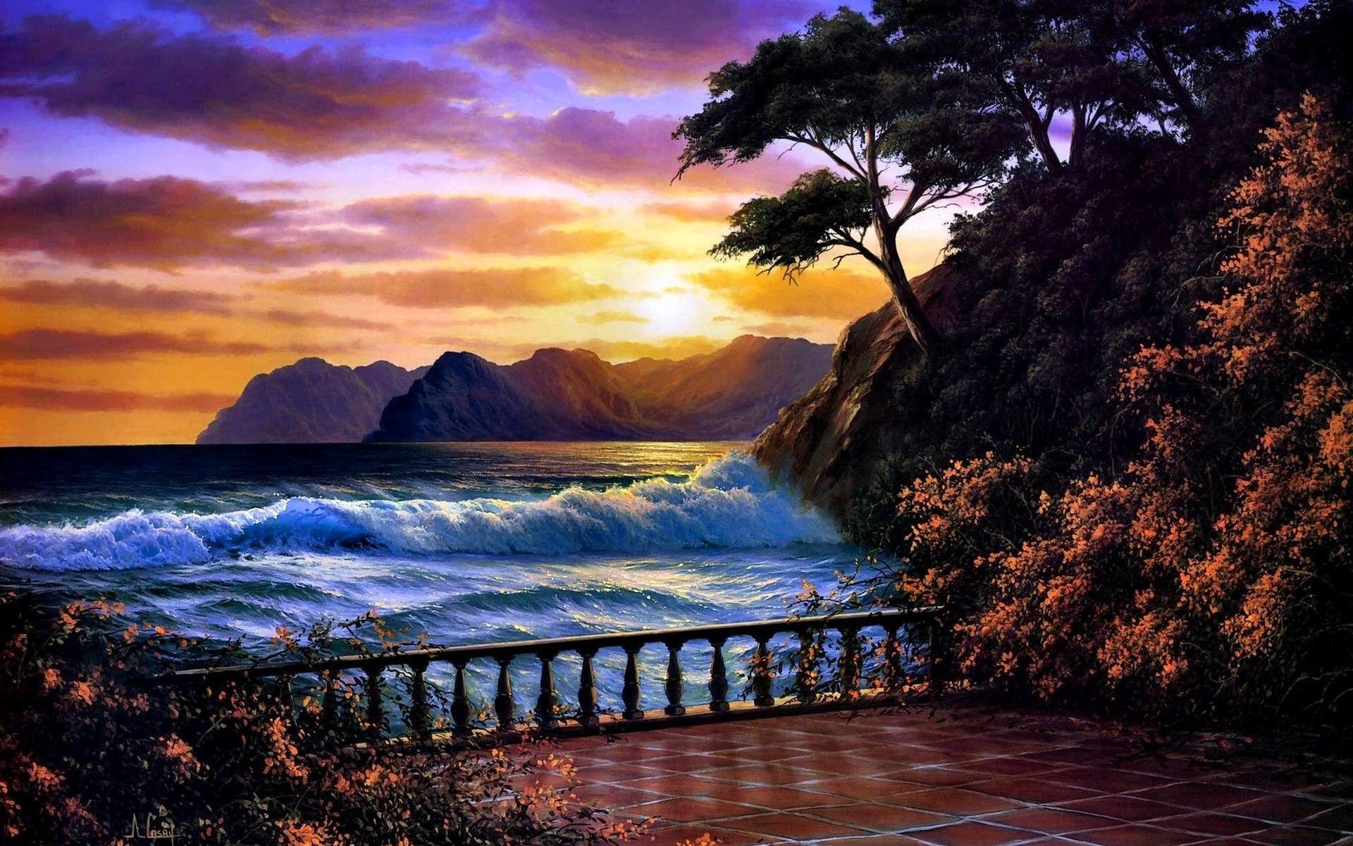 Beautiful Sunset Wallpapers Top Free Beautiful Sunset
