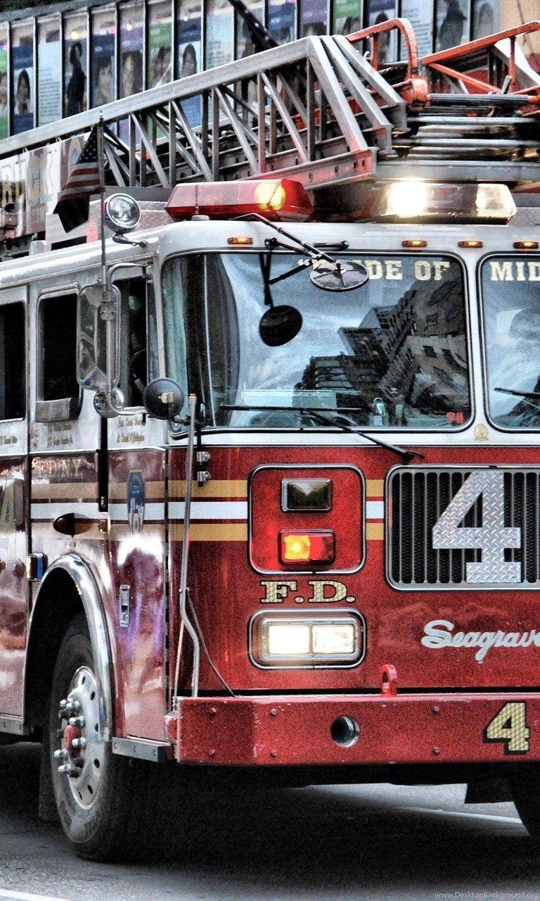 Fire Truck Wallpapers Top Free Fire Truck Backgrounds