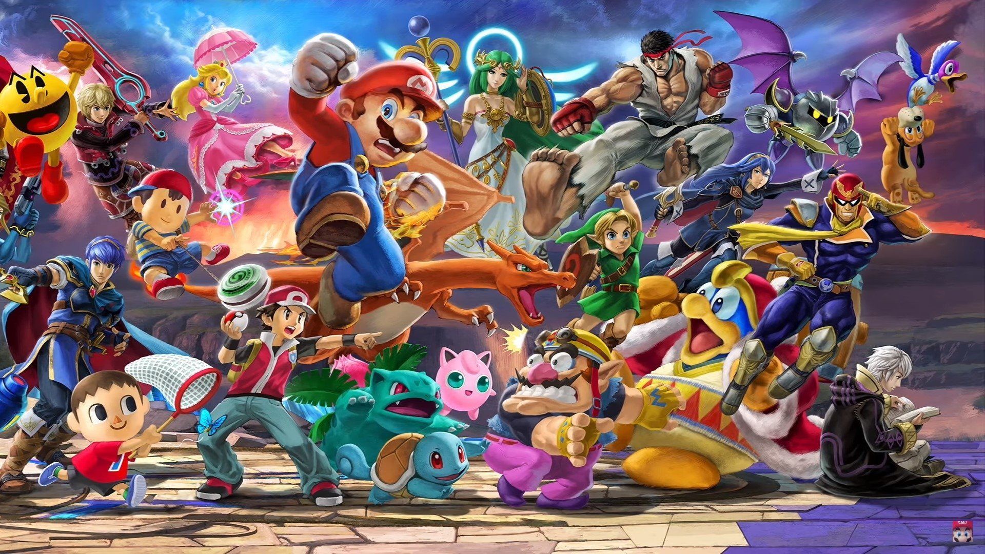 Smash Bros Ultimate Wallpapers Top Free Smash Bros Ultimate