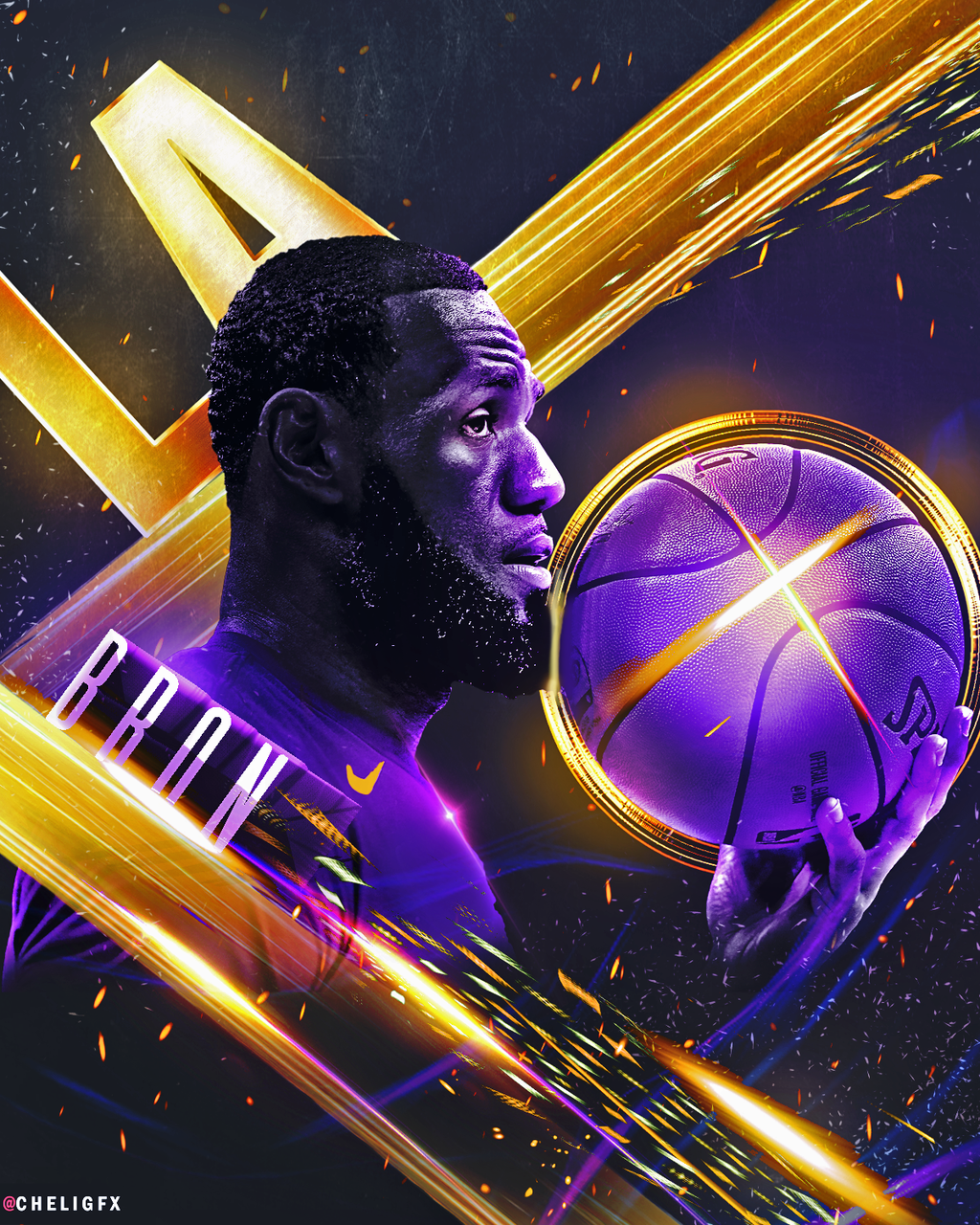 Lebron James Wallpaper Iphone: LeBron Lakers Wallpapers