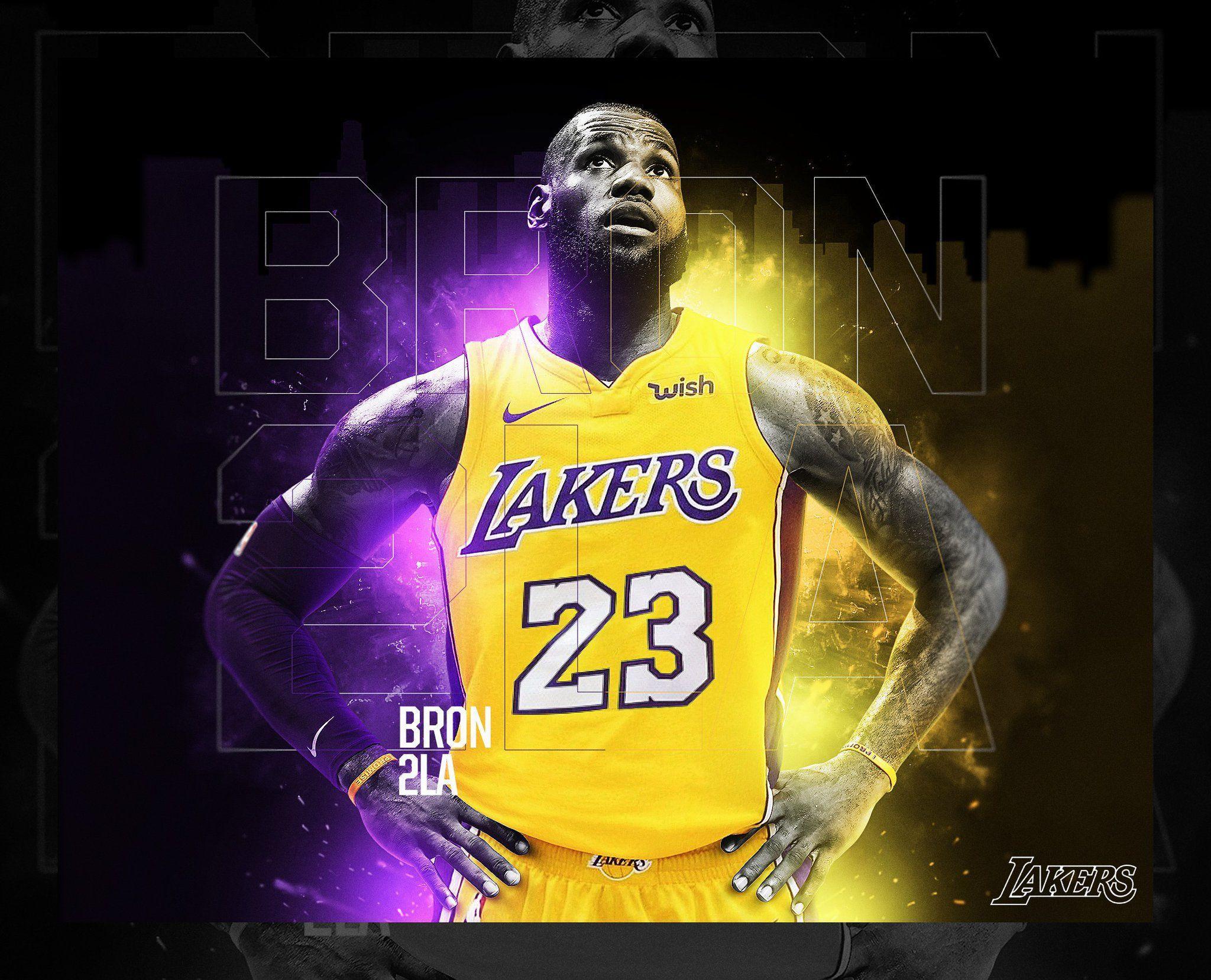 Lakers Desktop Wallpapers Top Free Lakers Desktop Backgrounds Wallpaperaccess
