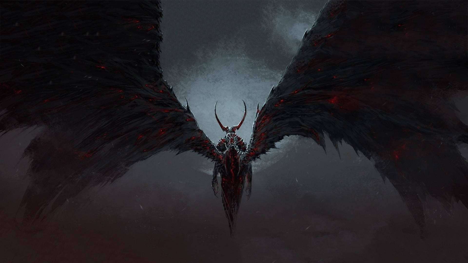 Scary Demon Wallpapers Top Free Scary Demon Backgrounds