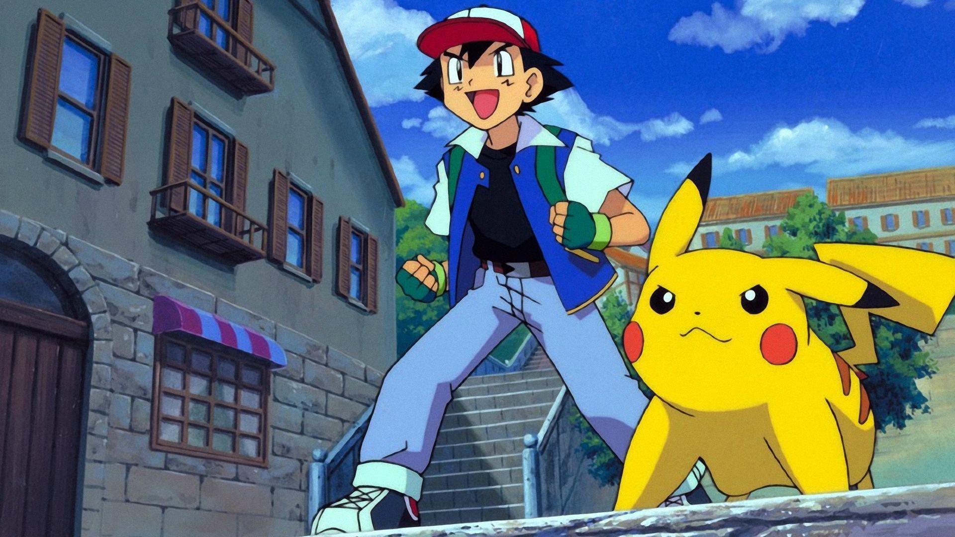 55 Best Free Pokémon Ash And Pikachu Wallpapers Wallpaperaccess