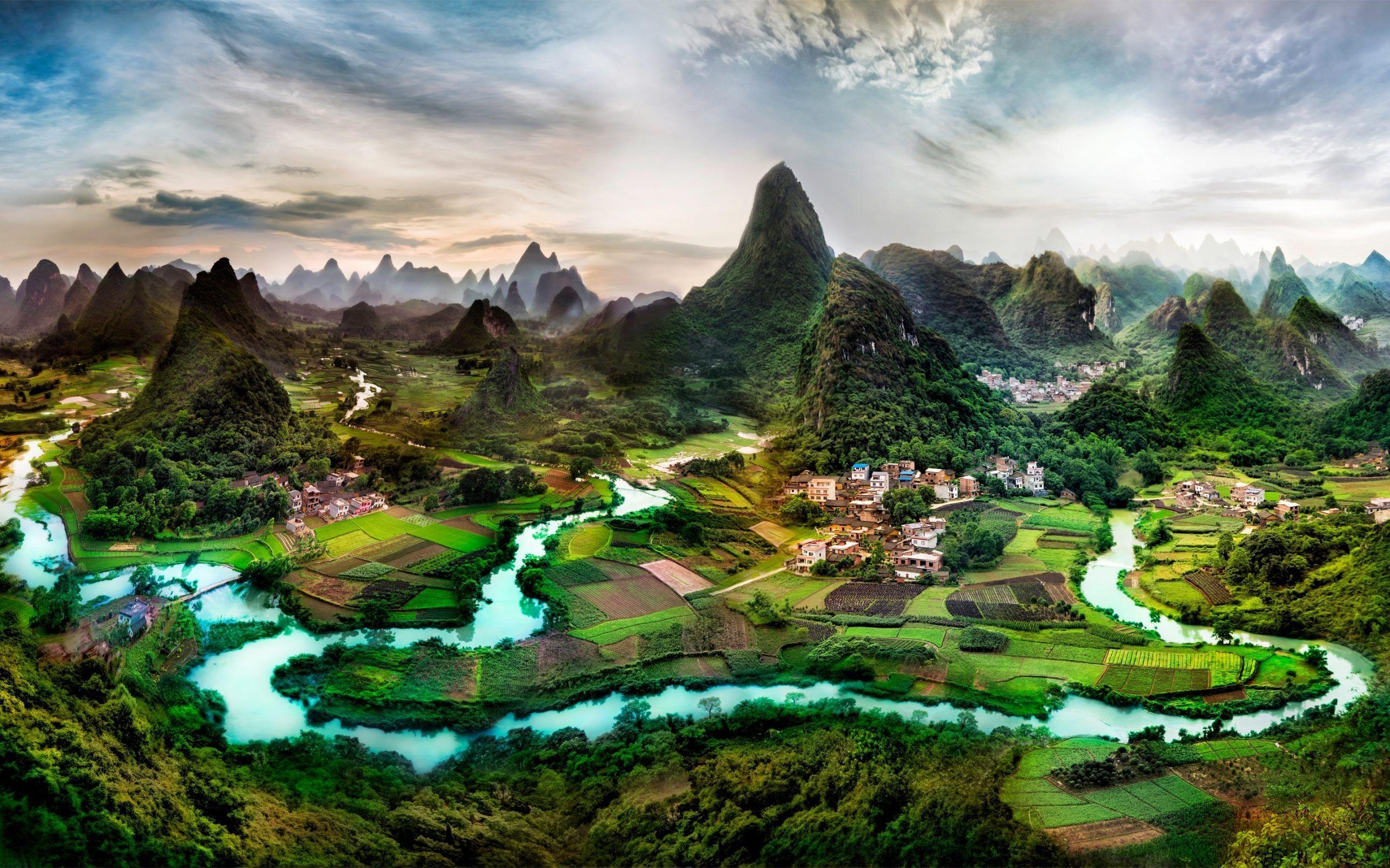 Top Free Landscape Backgrounds