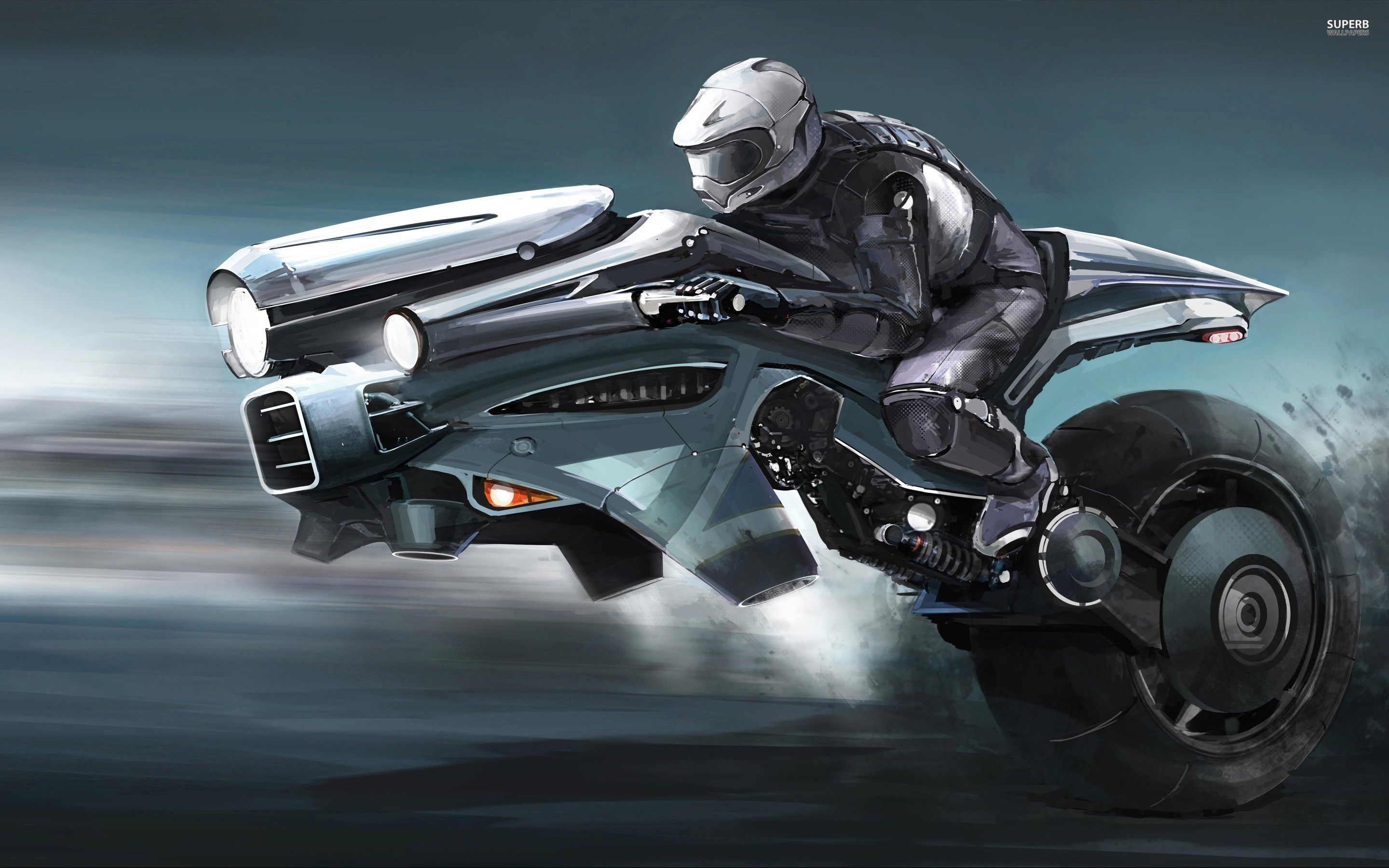 Futuristic Motorcycle Wallpapers - Top Free Futuristic Motorcycle ...