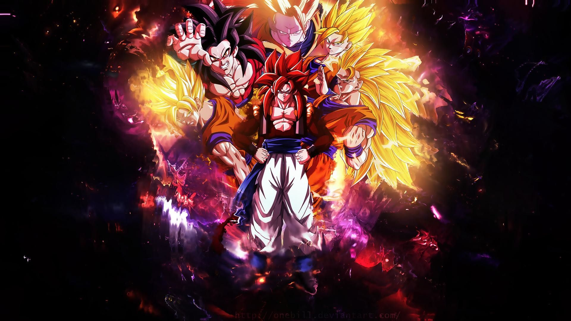 Awesome Goku Wallpapers Top Free Awesome Goku Backgrounds Wallpaperaccess