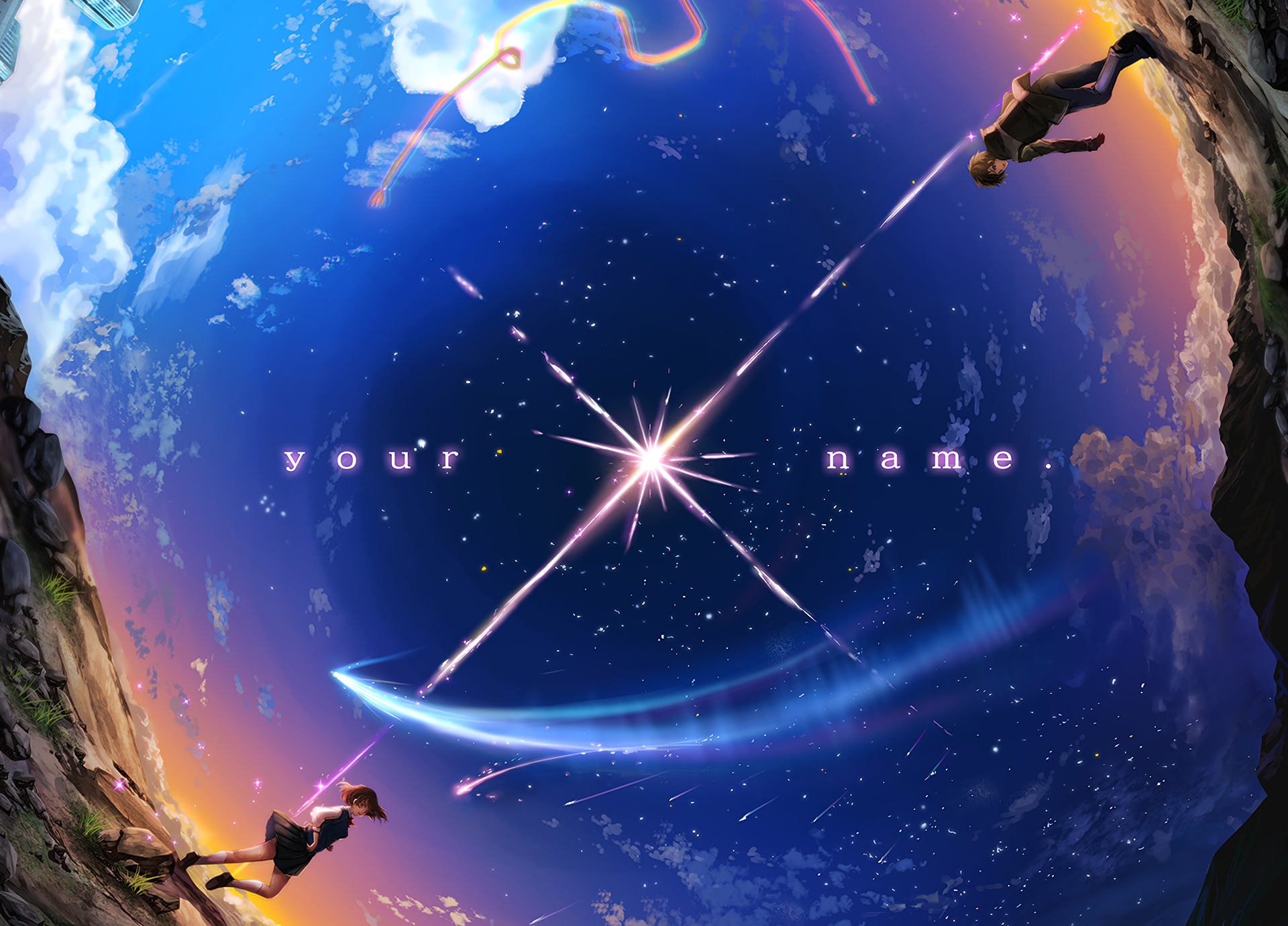 Anime Your Name Desktop Wallpapers Top Free Anime Your