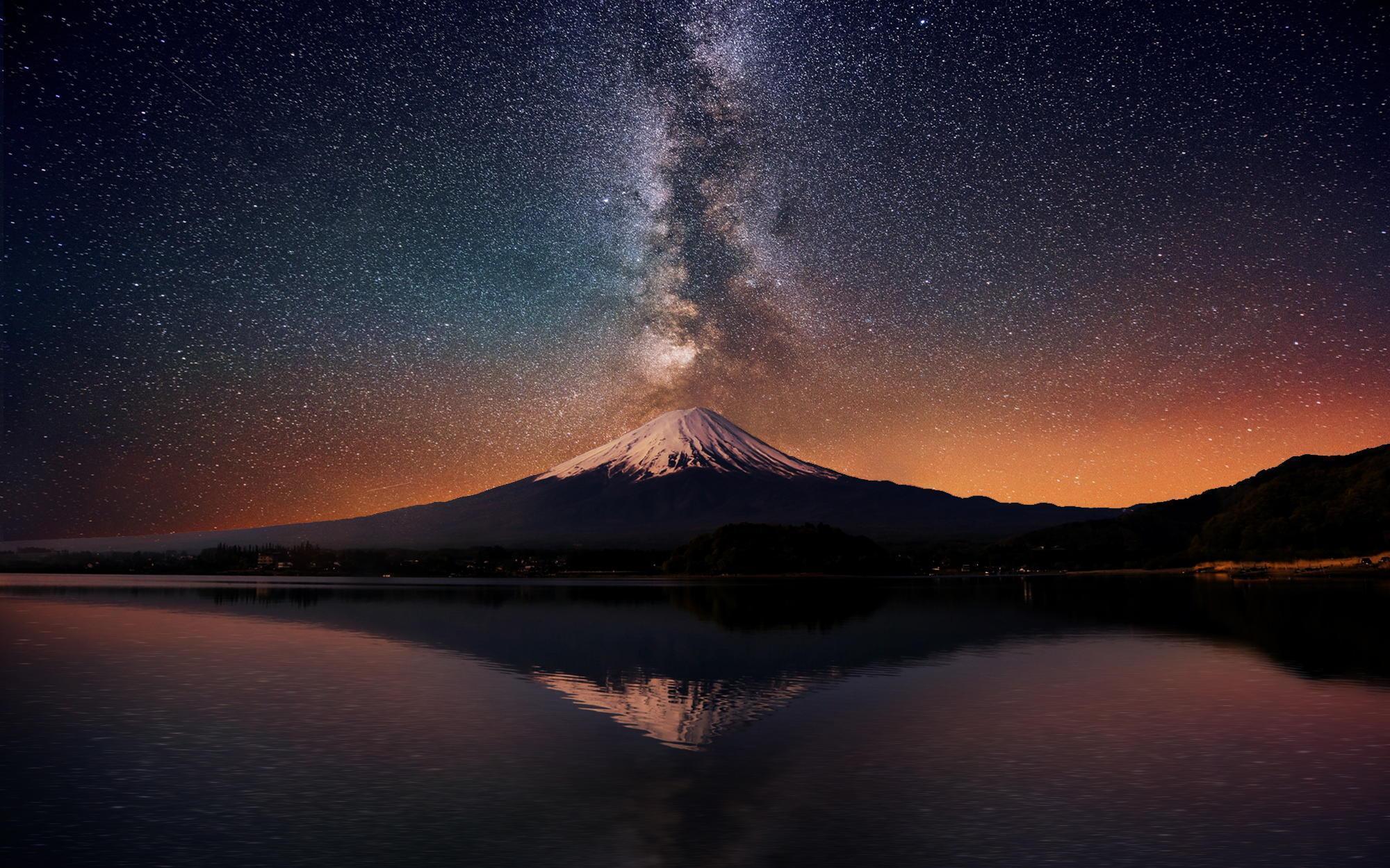2932x2932 Firewatch Game Sunset Ipad Pro Retina Display Hd: Night Mount Fuji Wallpapers