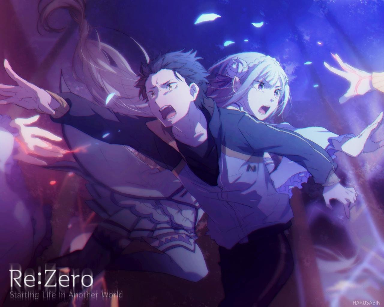 Re Zero Wallpapers Top Free Re Zero Backgrounds Wallpaperaccess