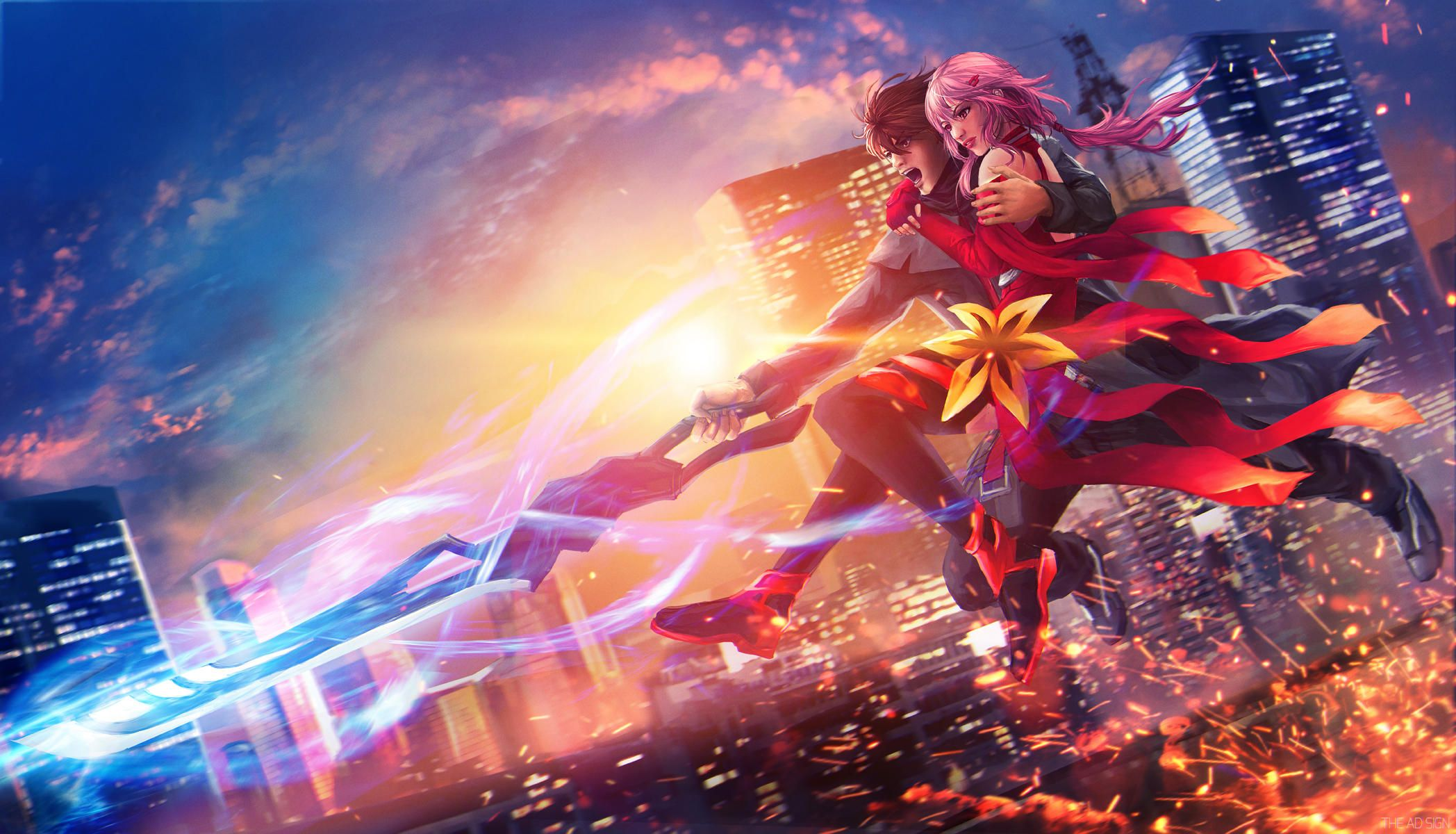 Guilty Crown Wallpapers Top Free Guilty Crown Backgrounds Wallpaperaccess