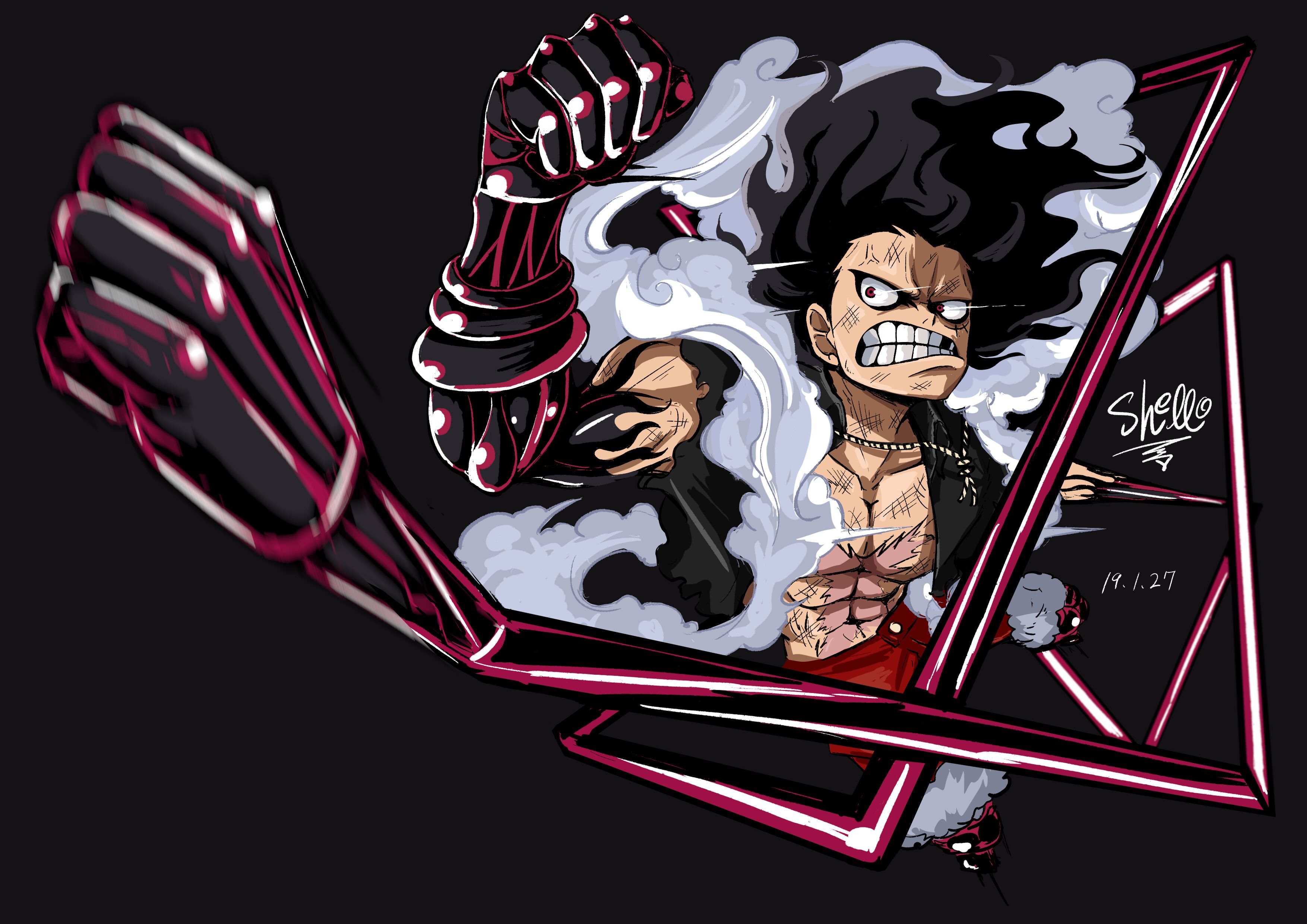 Luffy Snake Man Wallpapers Top Free Luffy Snake Man Backgrounds Wallpaperaccess