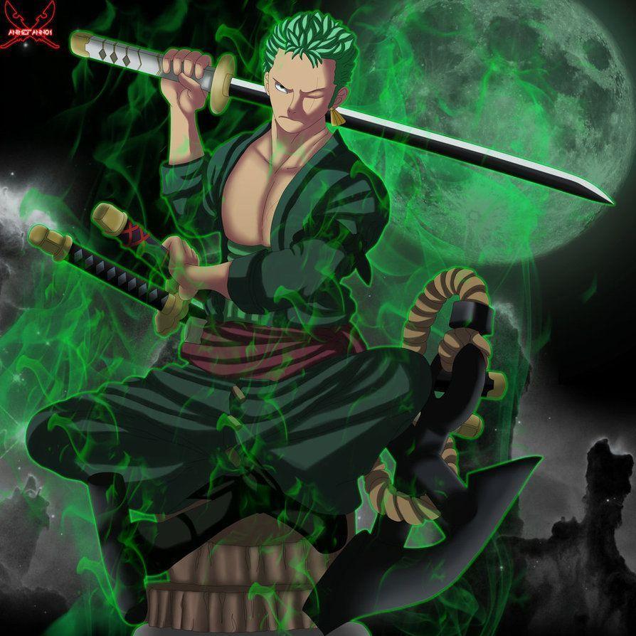 Zoro Green Wallpaper