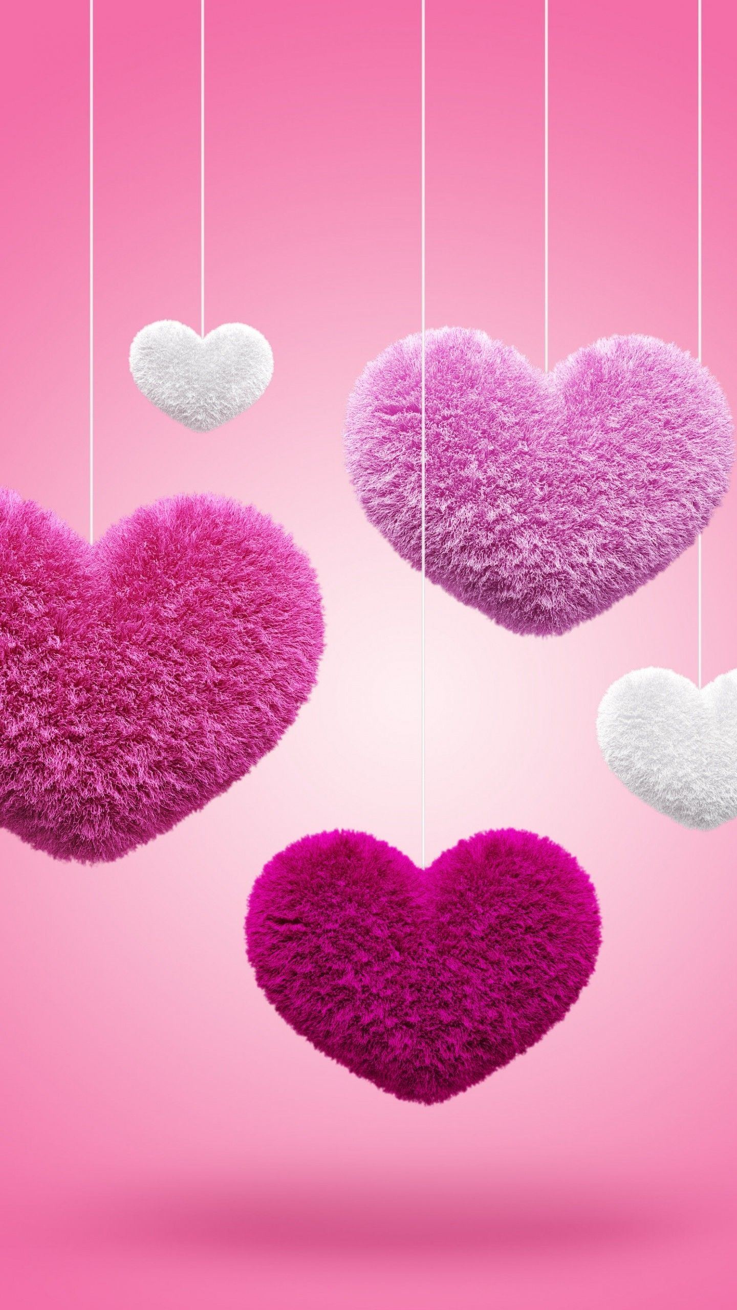 Pink Hearts Wallpapers Top Free Pink Hearts Backgrounds