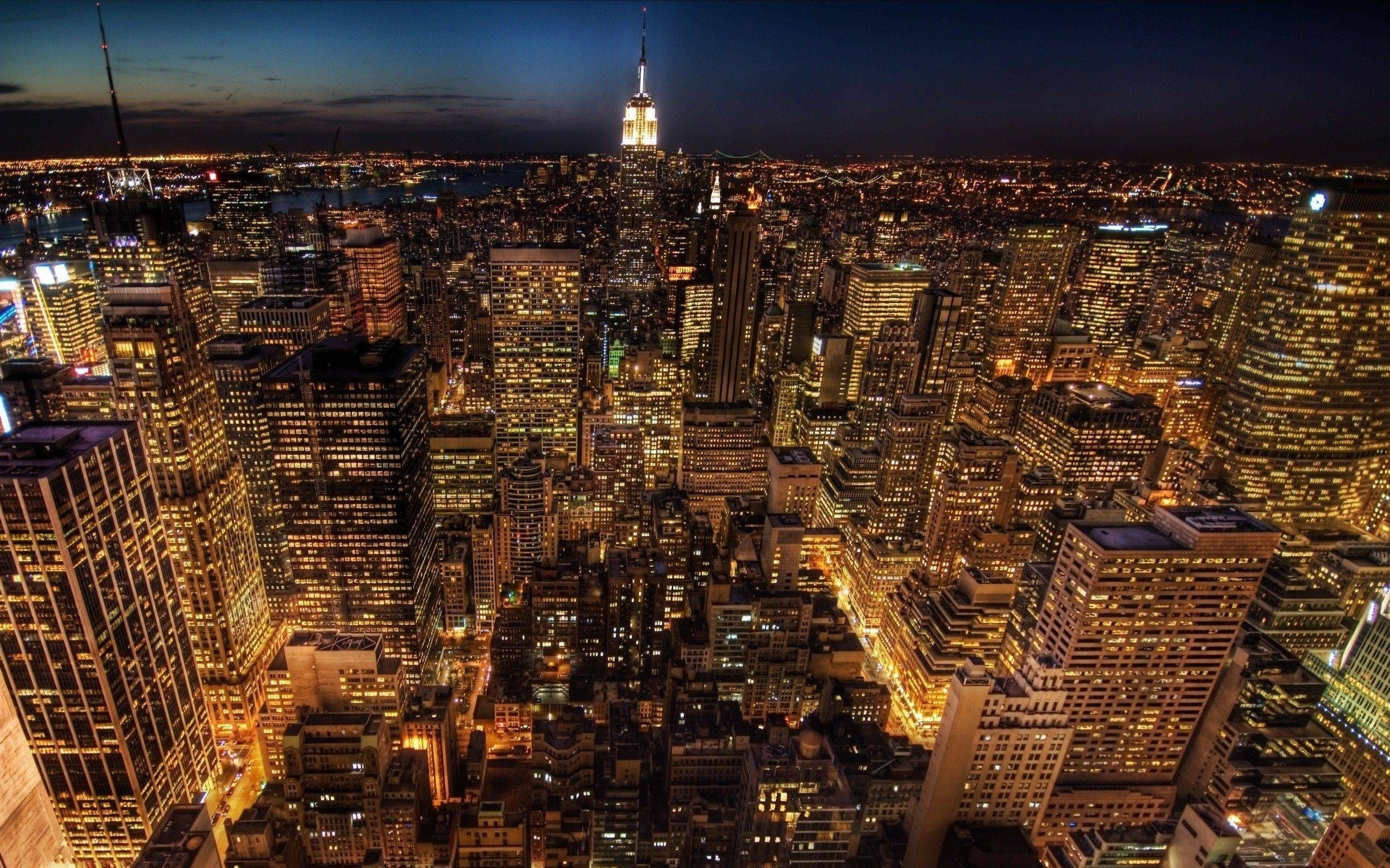 New York City Night Wallpapers Top Free New York City Night