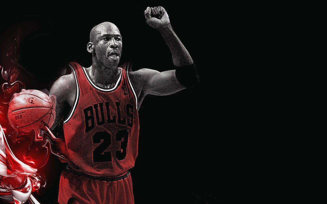 Hình nền lịch sử 1280x800: Michael Jordan (1963-)