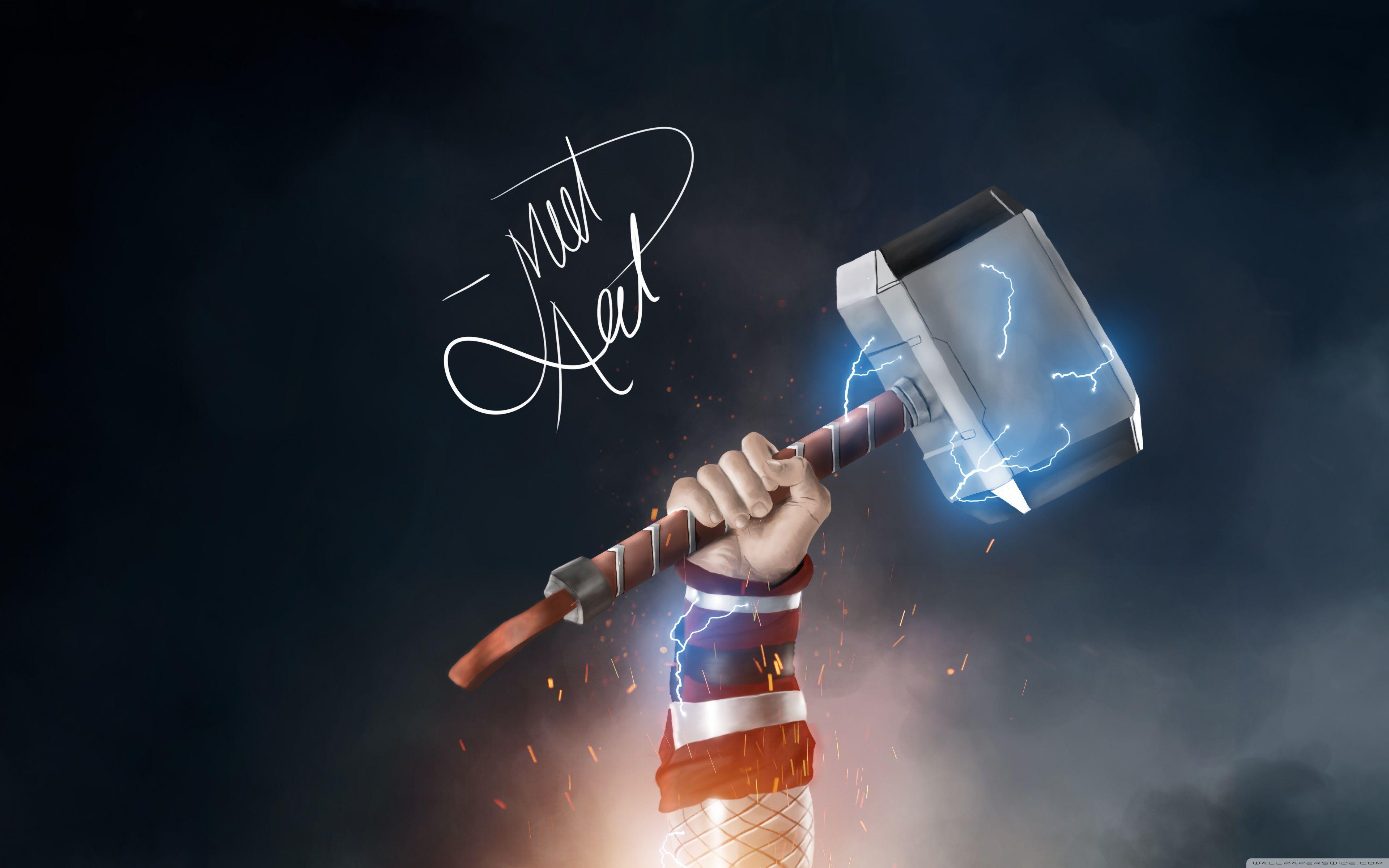 Thor Mjolnir 4k Wallpapers Top Free Thor Mjolnir 4k Backgrounds