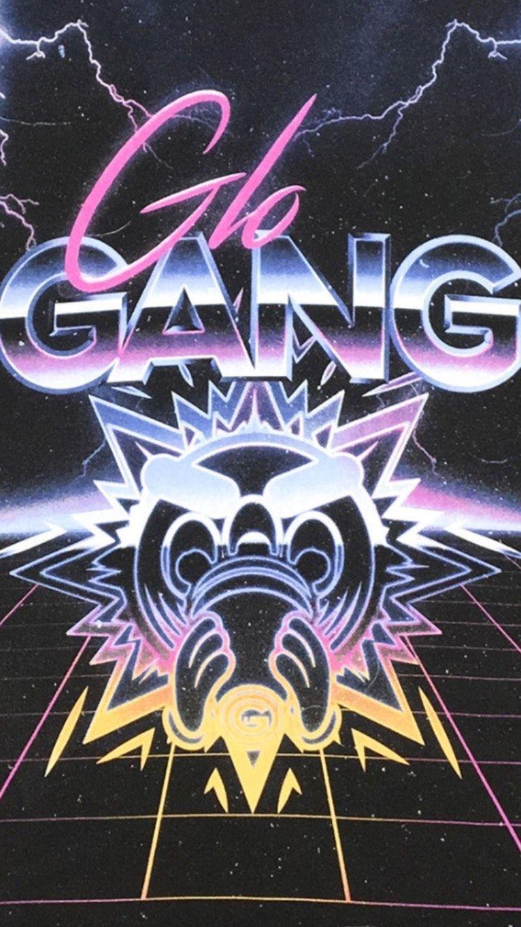 750x1334 hình nền_Glo Gang hình nền cho