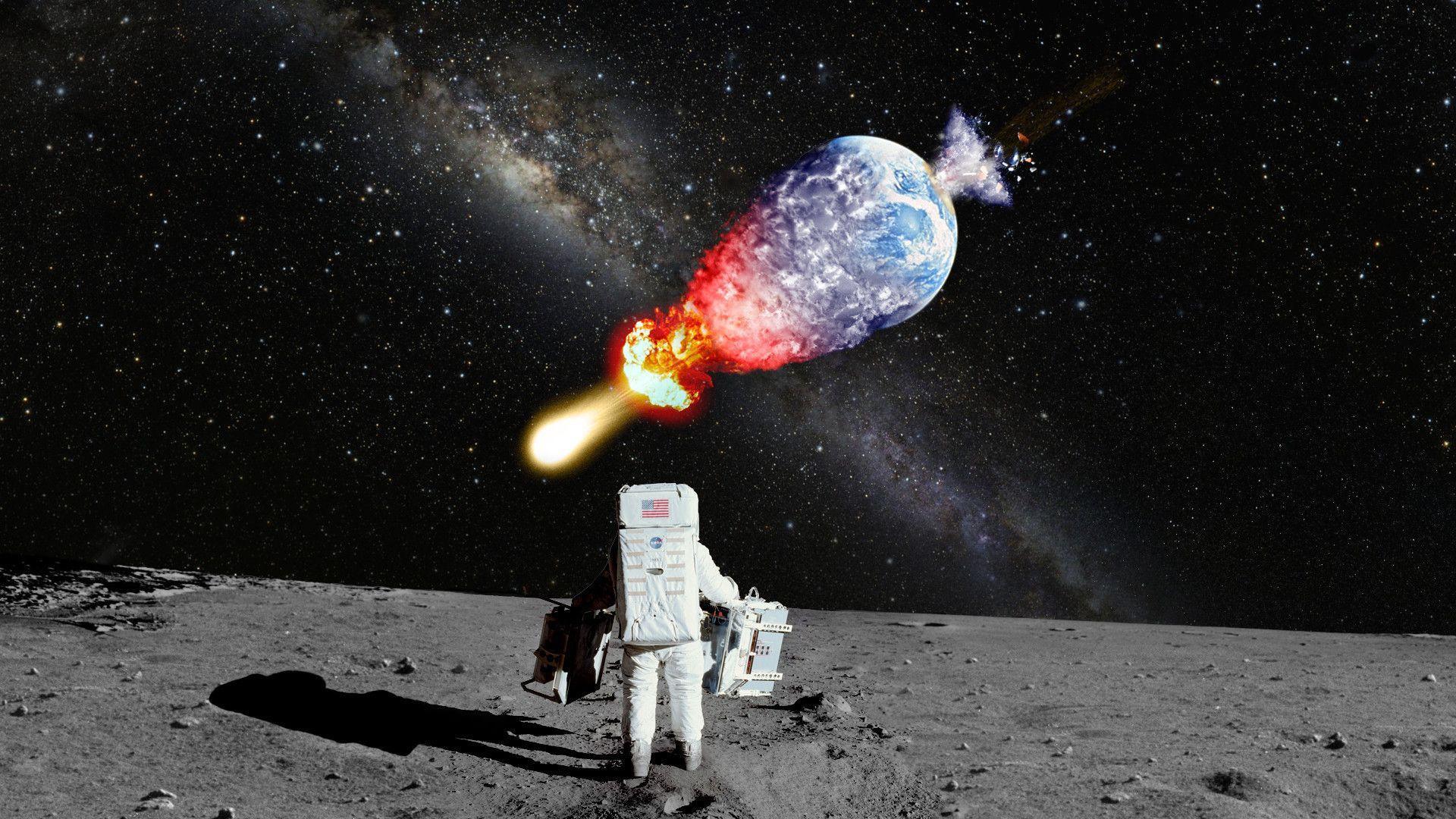 Moon Man Wallpapers Top Free Moon Man Backgrounds Wallpaperaccess