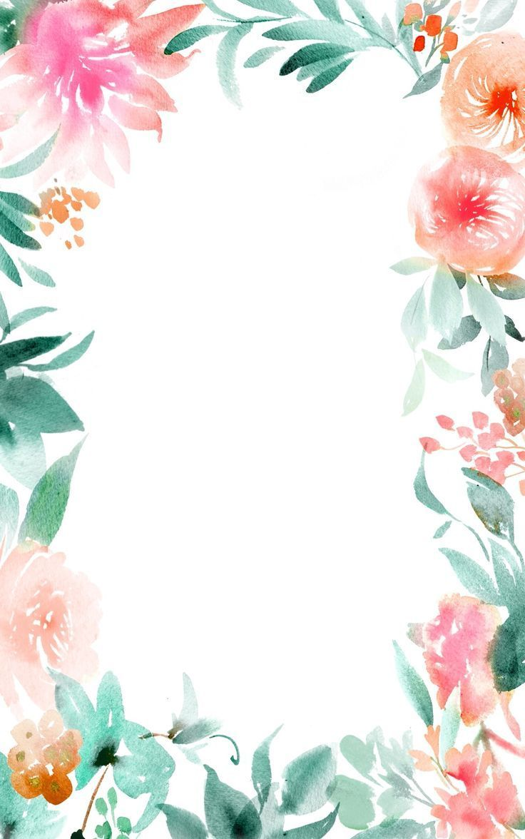 Watercolor Floral Wallpapers Top Free Watercolor Floral