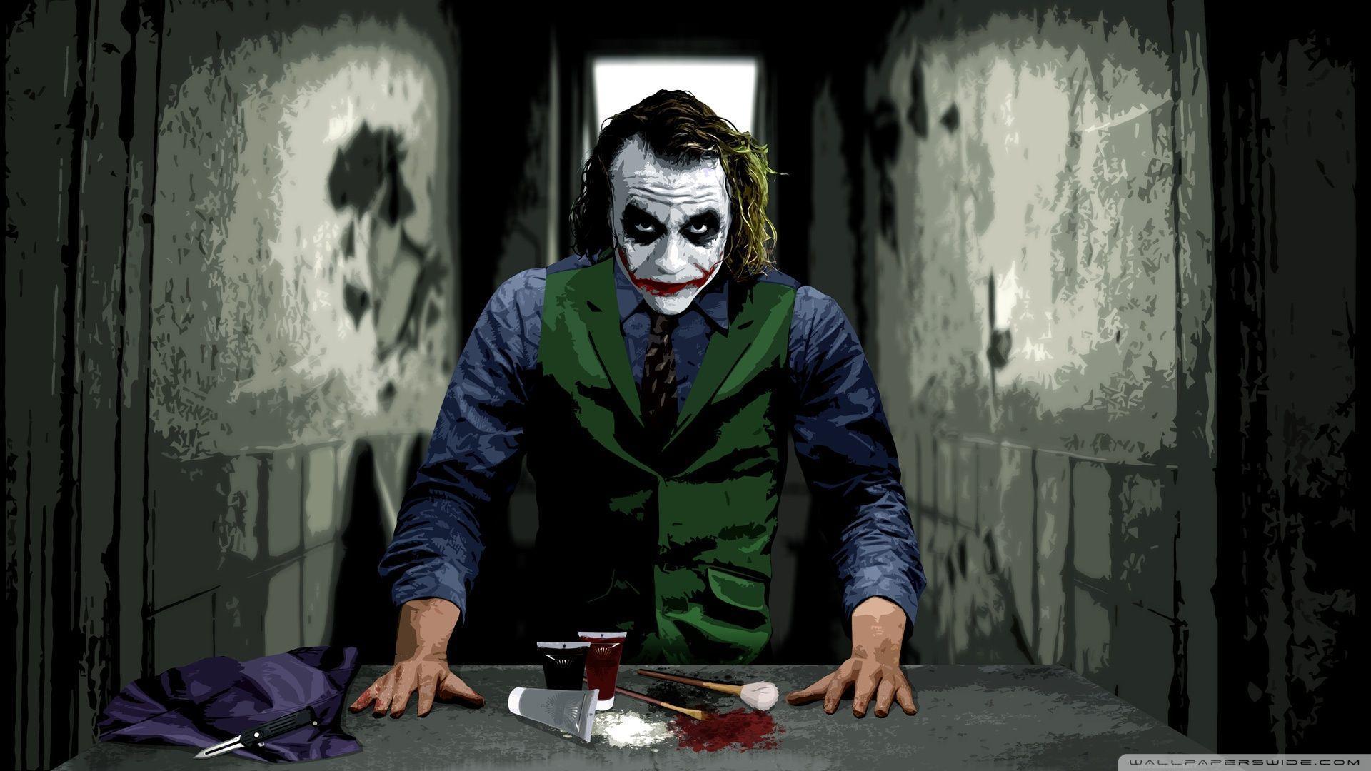 22+ Heath Ledger Joker Wallpaper 4K JPG