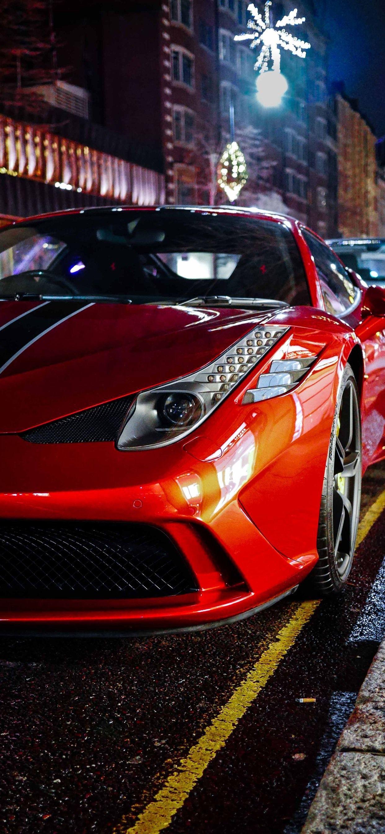 Ferrari Iphone Wallpapers Top Free Ferrari Iphone Backgrounds Wallpaperaccess