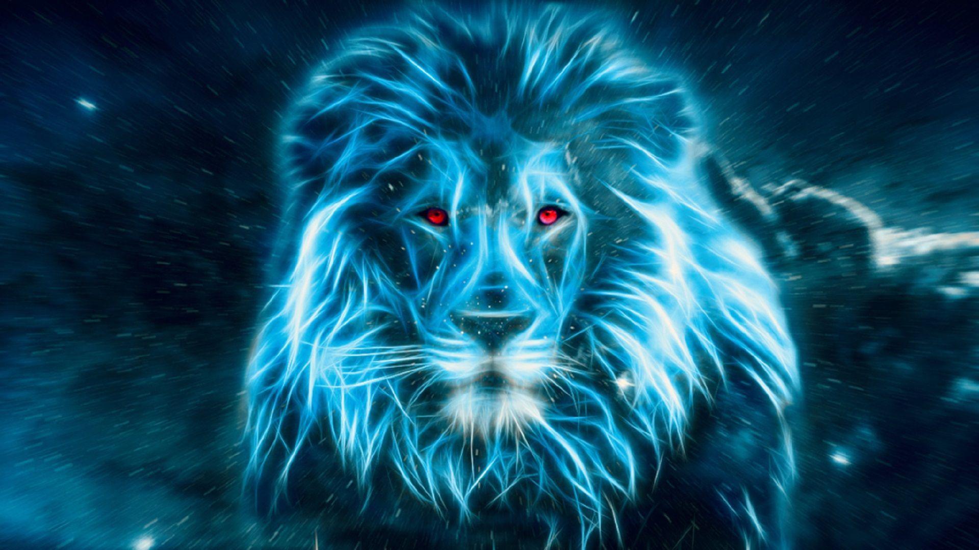 Blue Lion Wallpapers Top Free Blue Lion Backgrounds
