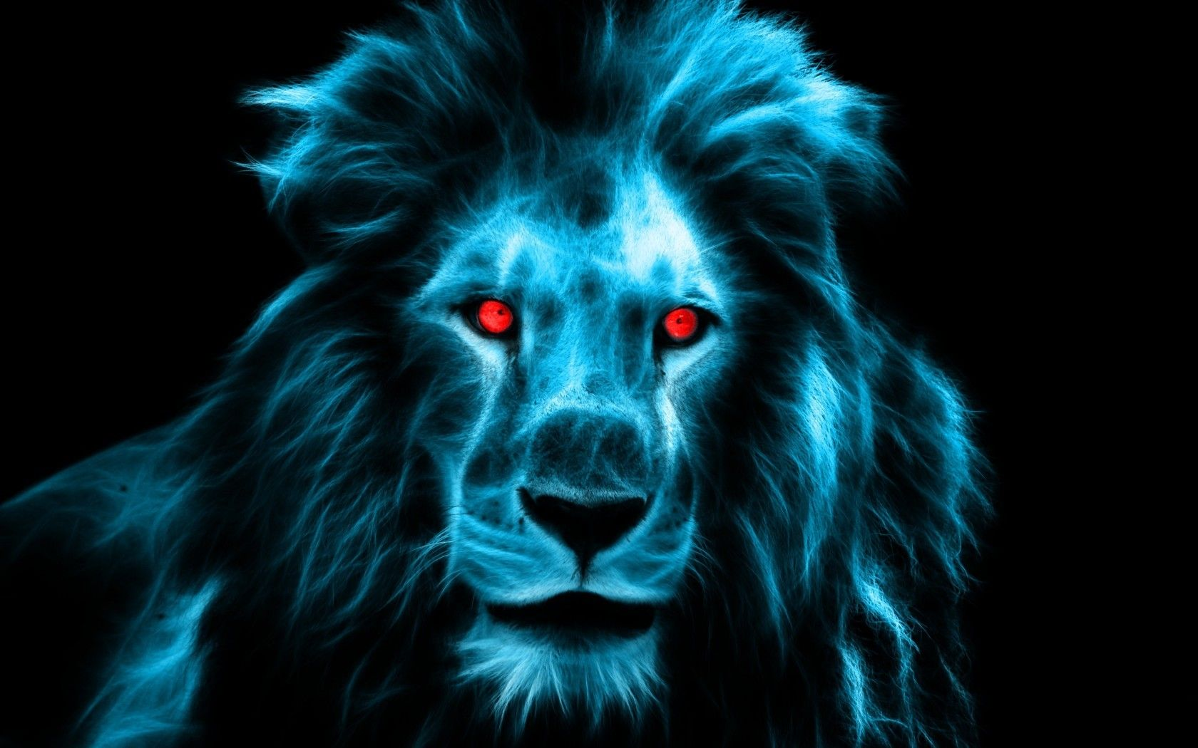 Blue Lion Wallpapers Top Free Blue Lion Backgrounds Wallpaperaccess