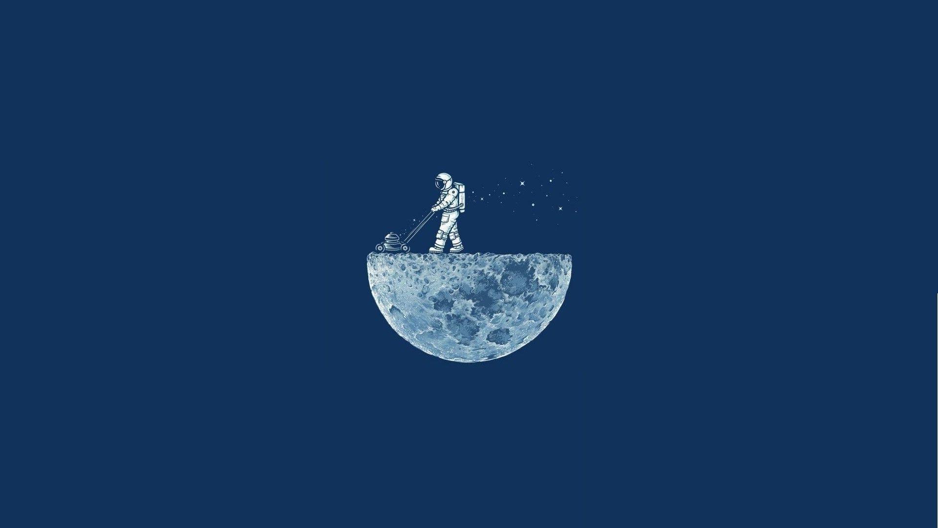 Minimalist Astronaut Wallpapers Top Free Minimalist Astronaut Backgrounds Wallpaperaccess