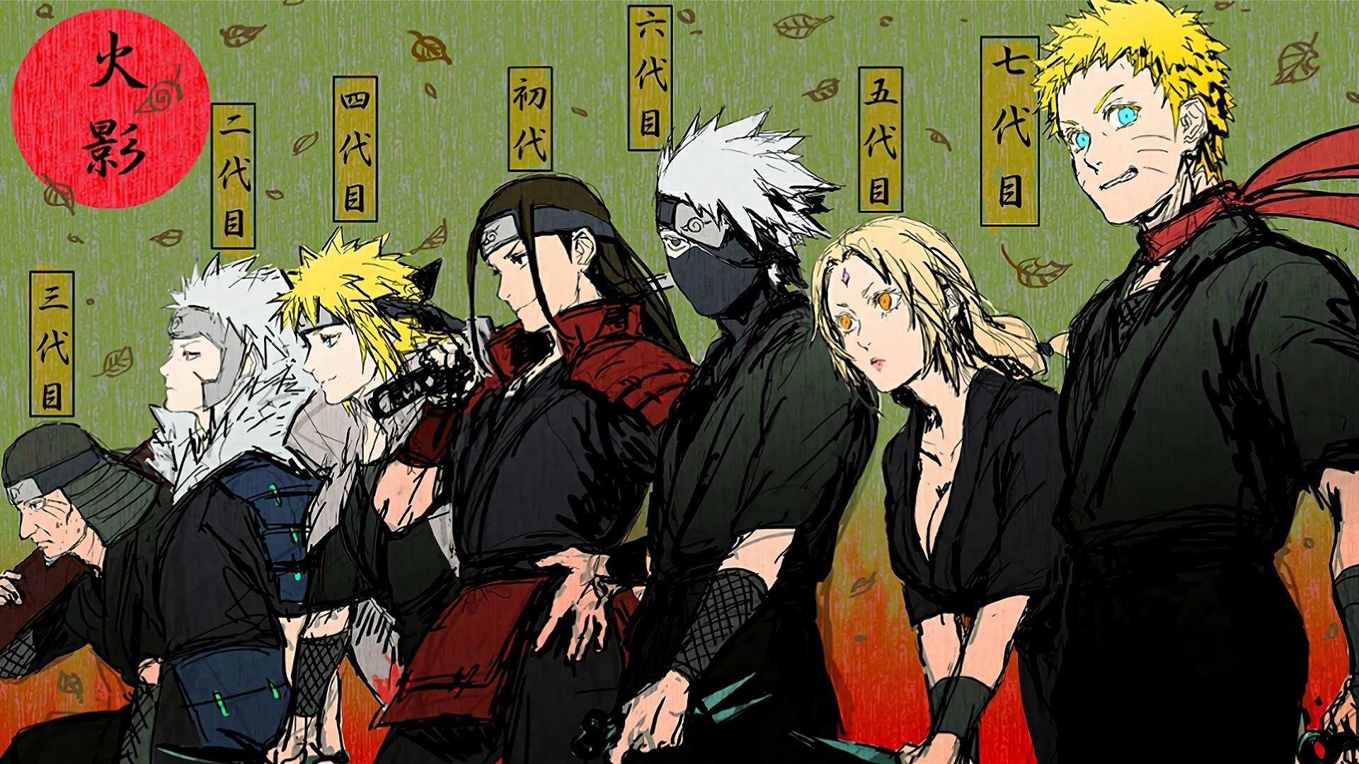 Naruto Hokage Wallpapers Top Free Naruto Hokage Backgrounds