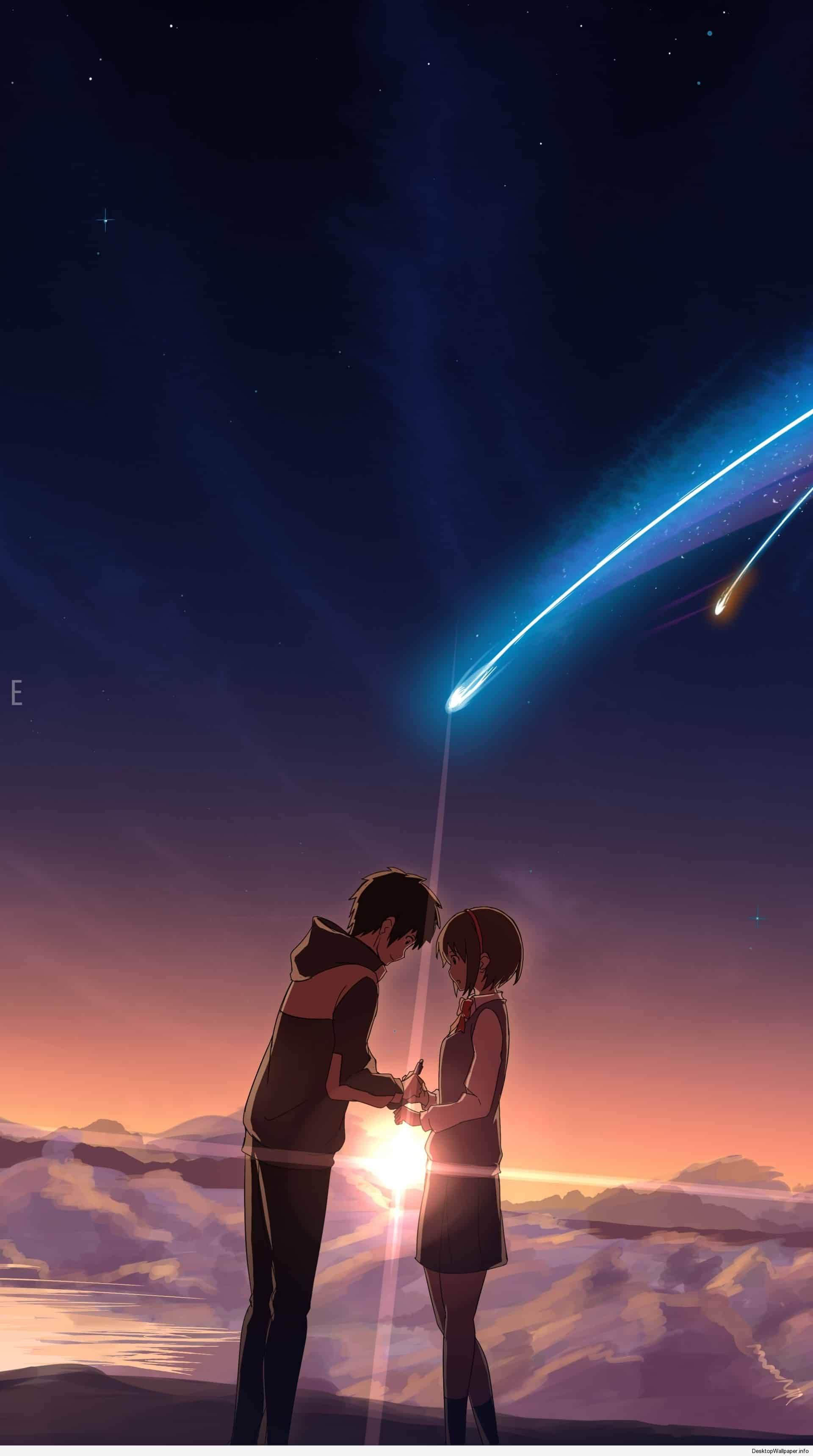 Kimi No Na Wa Wallpapers Top Free Kimi No Na Wa Backgrounds Wallpaperaccess