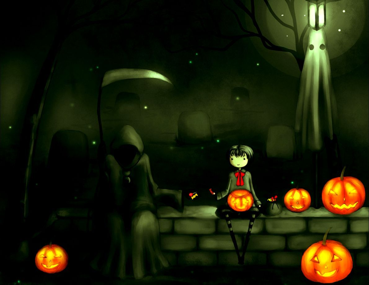 Awesome Halloween Wallpapers Top Free Awesome Halloween Backgrounds Wallpaperaccess