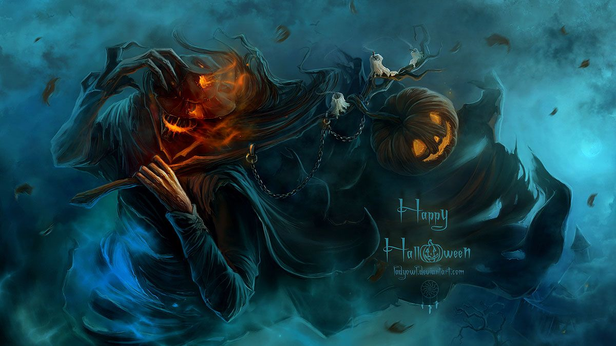 Scary Halloween Wallpapers Top Free Scary Halloween Backgrounds Wallpaperaccess