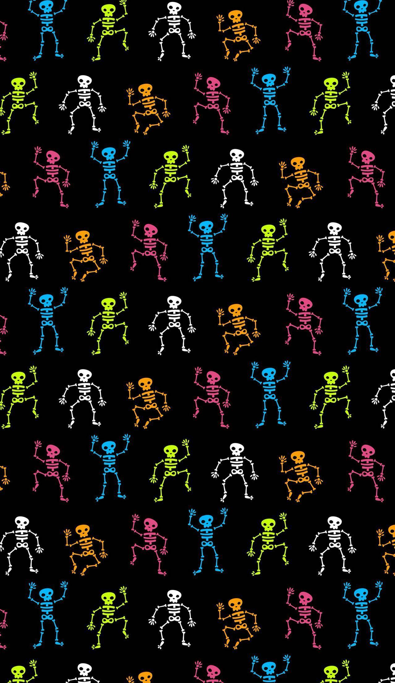 Cute Halloween Skeleton Wallpapers Top Free Cute Halloween Skeleton Backgrounds Wallpaperaccess