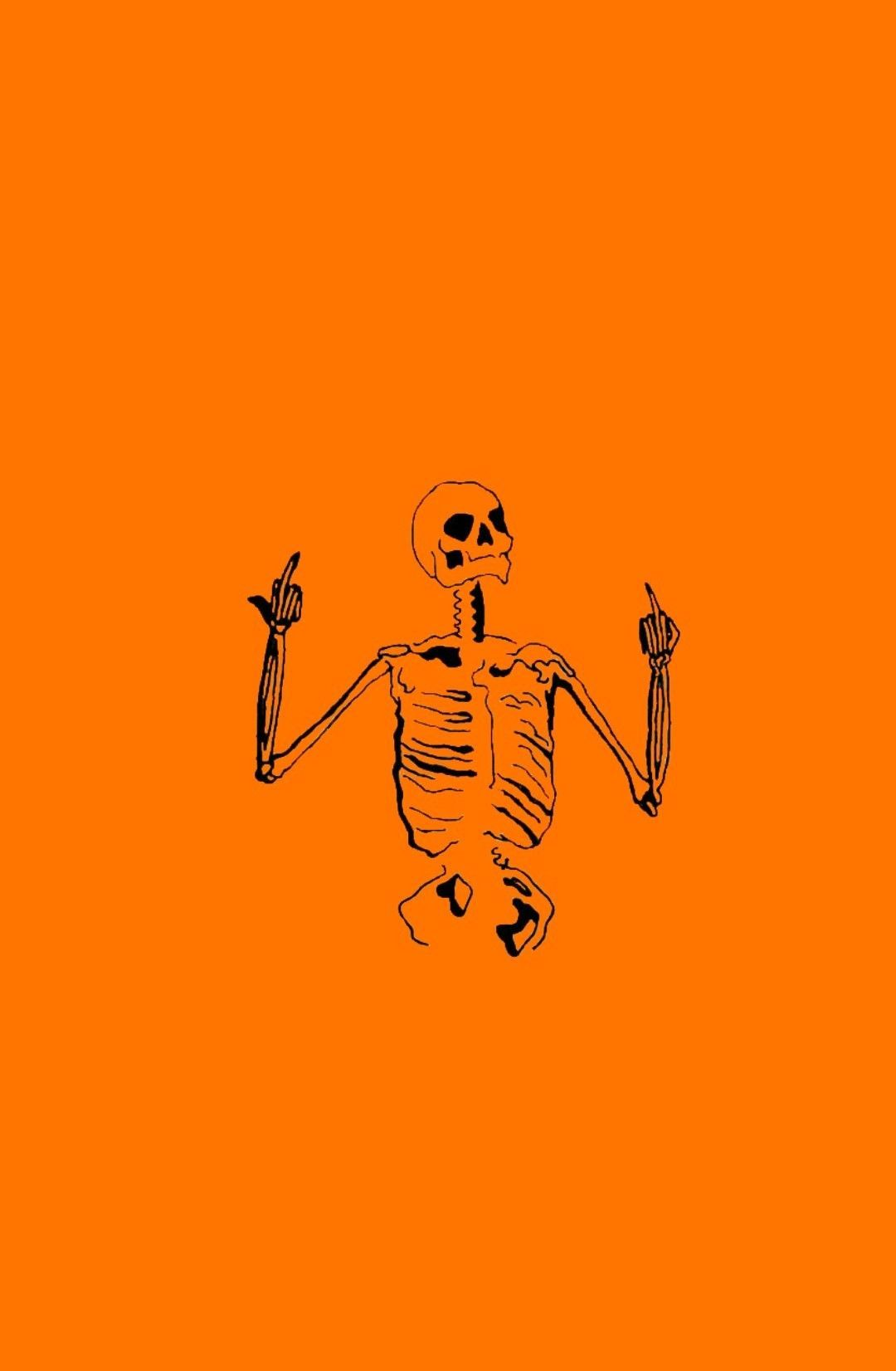 Halloween Skull Aesthetic Wallpapers , Top Free Halloween
