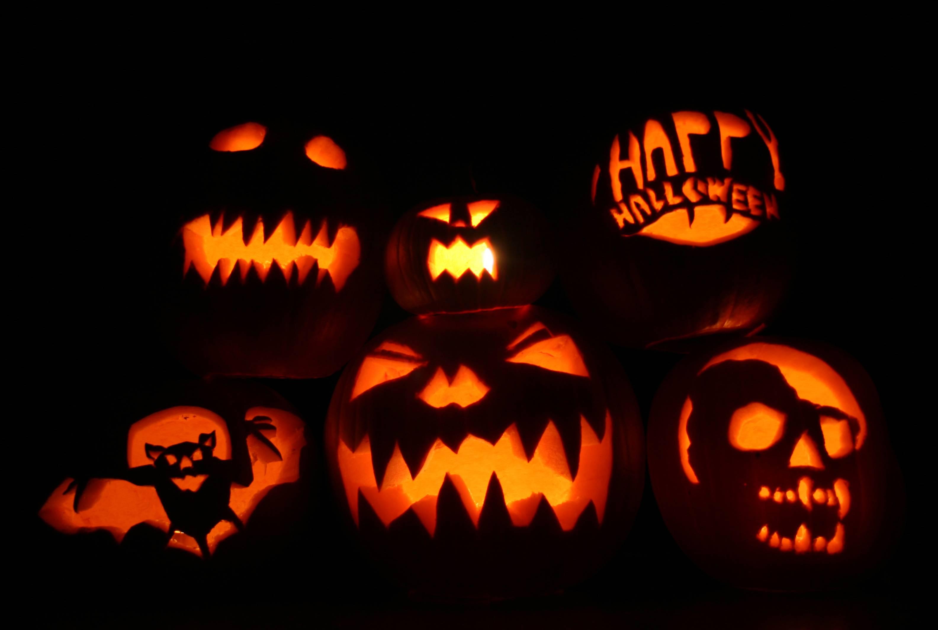 Halloween Pumpkin Wallpapers Top Free Halloween Pumpkin Backgrounds Wallpaperaccess